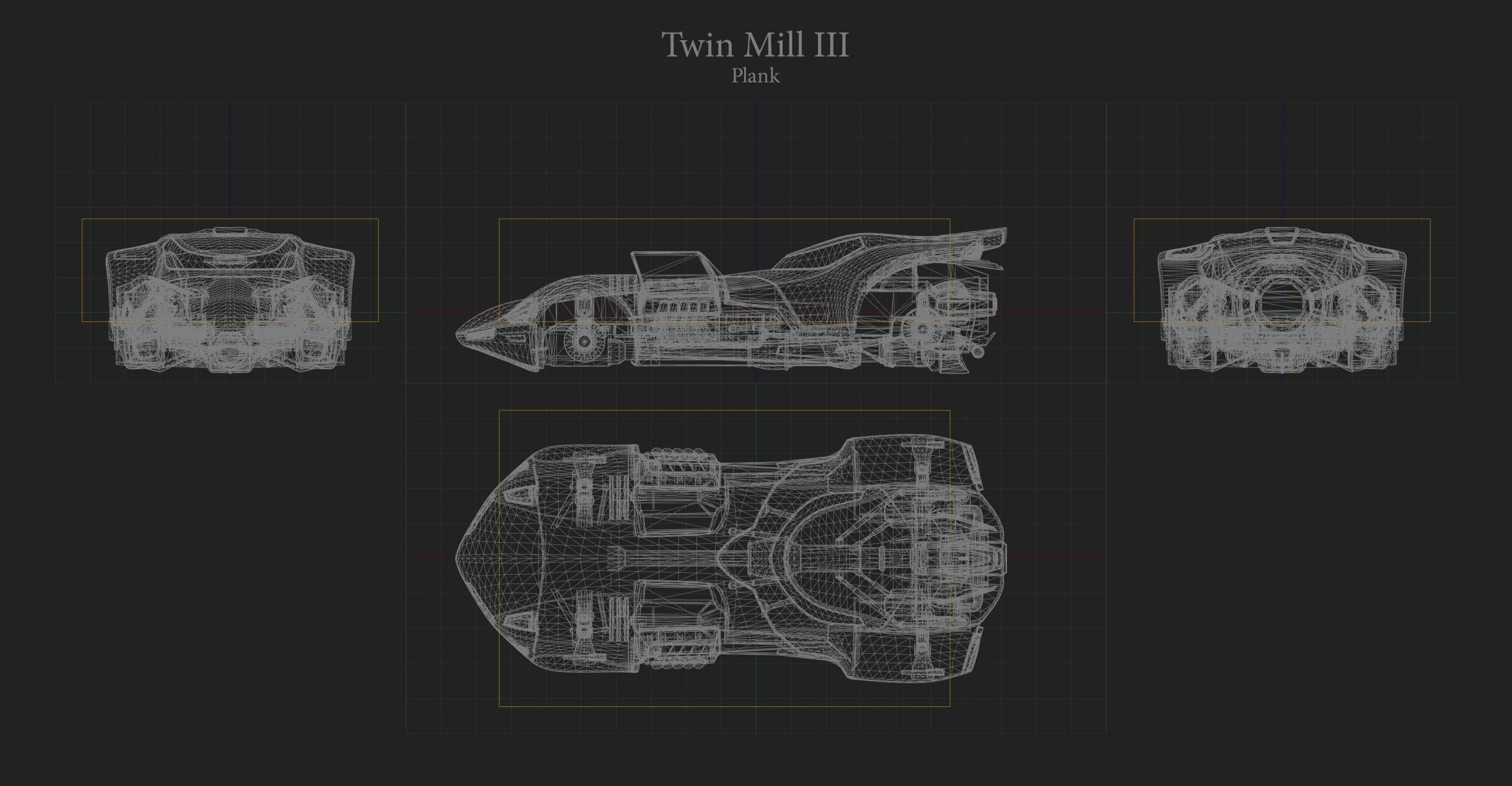 Twin Mill III Hitbox Rocket League