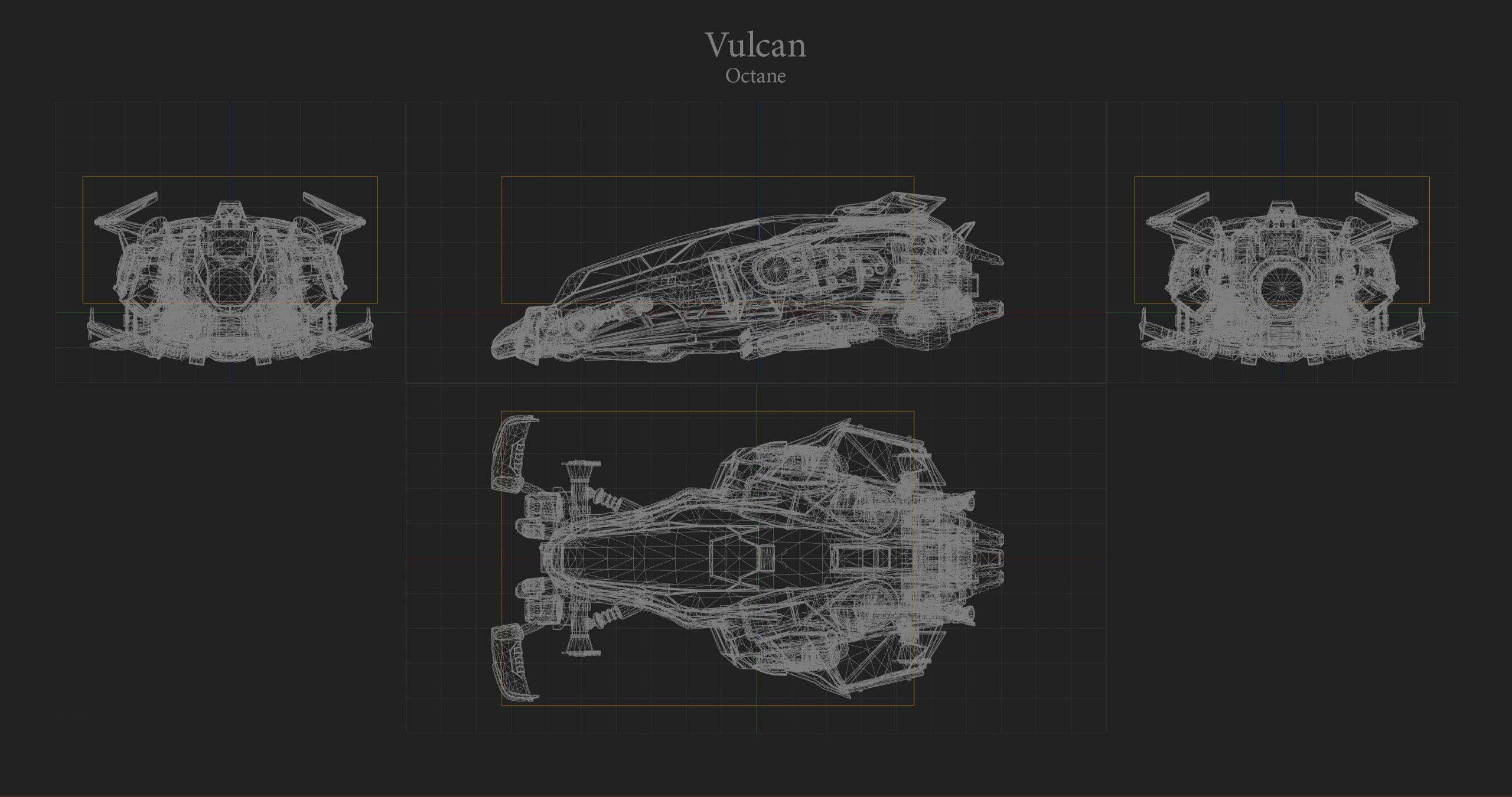 Vulcan Hitbox Rocket League