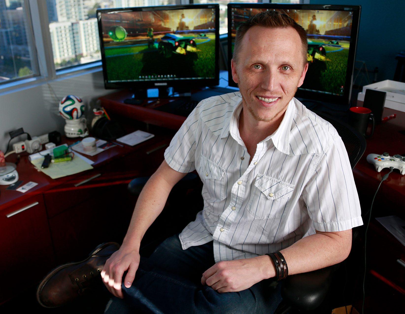 David. F. Hagewood Rocket League CEO