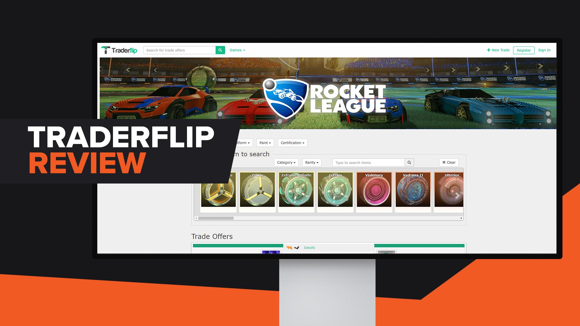 Traderflip Review Rocket League