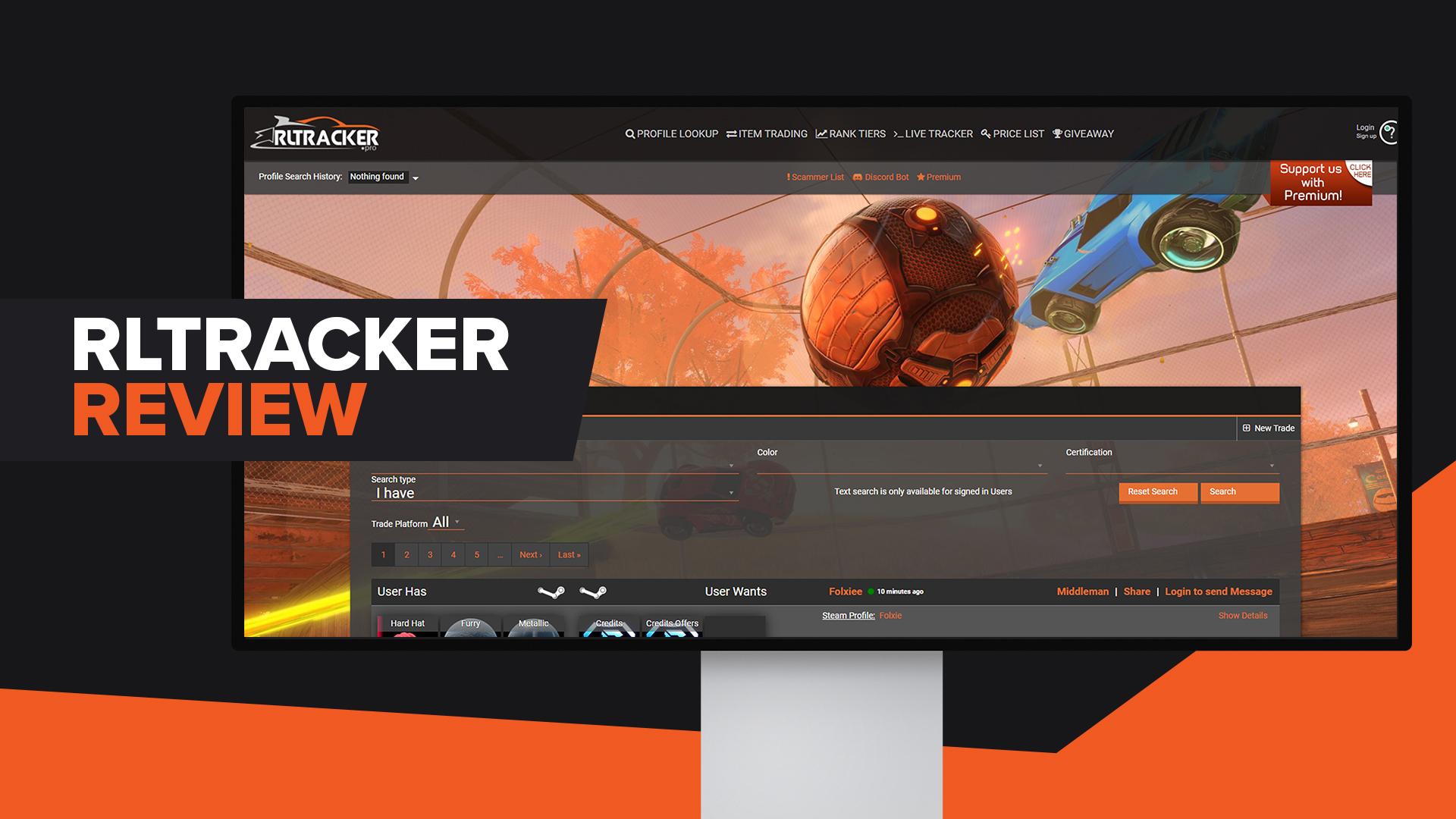 RlTracker Review Rocket League