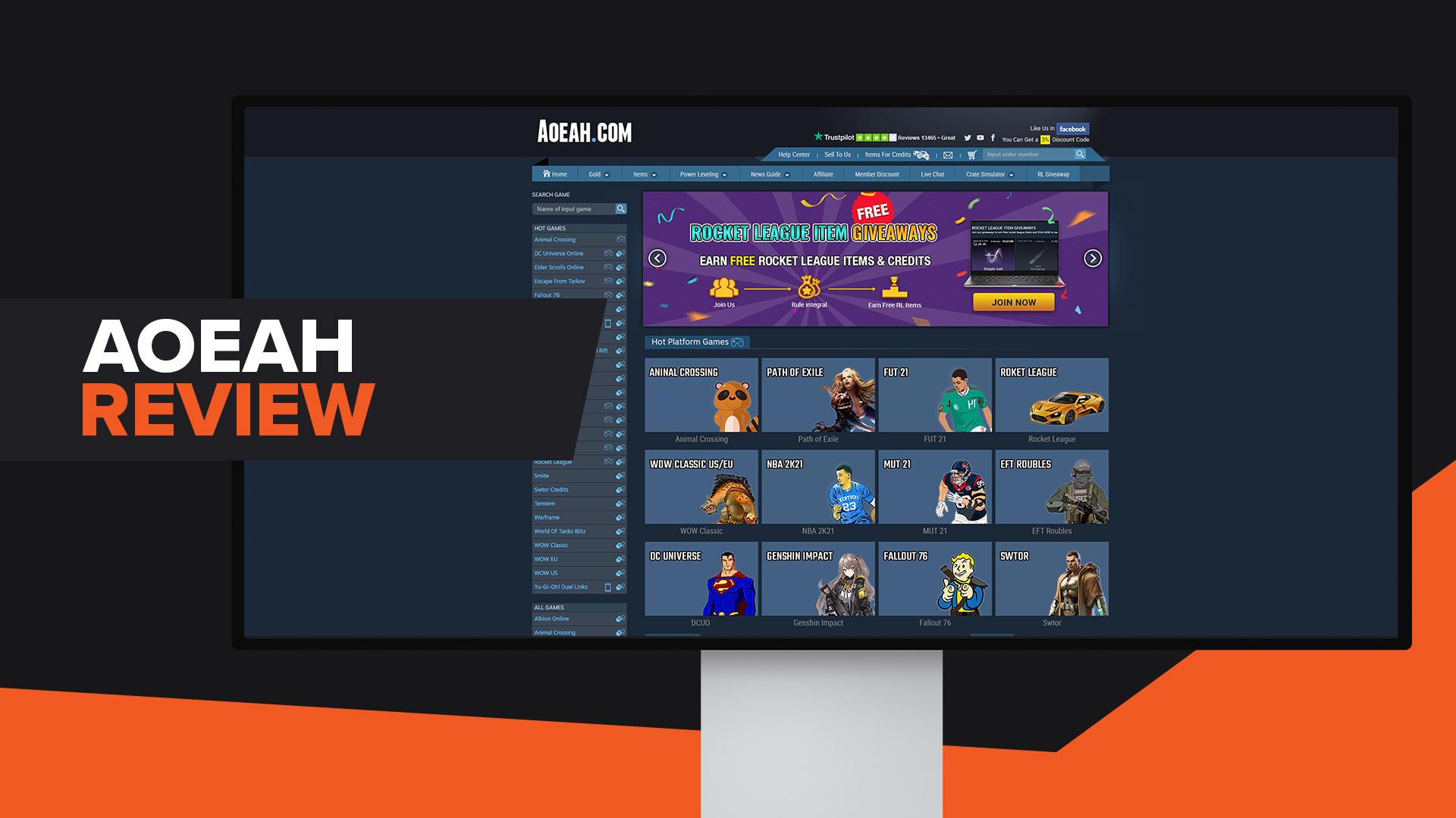Aoeah Review Rocket League