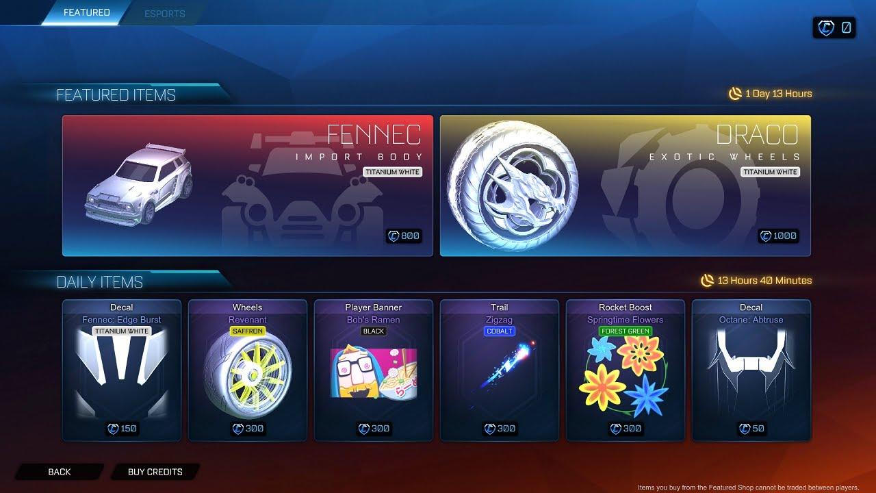 Fennec in Rocket League
