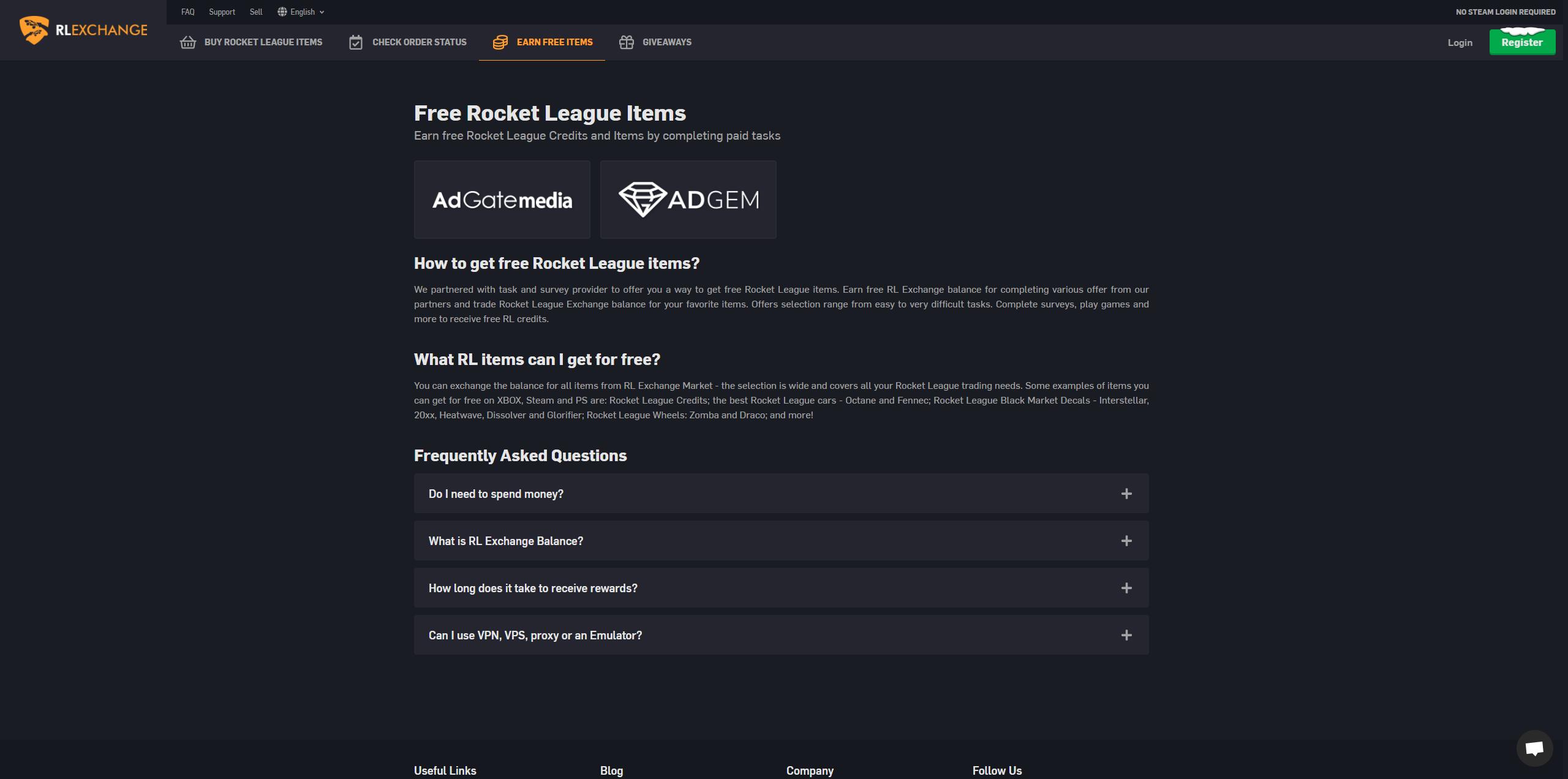 Rlexchange review legit rocket league