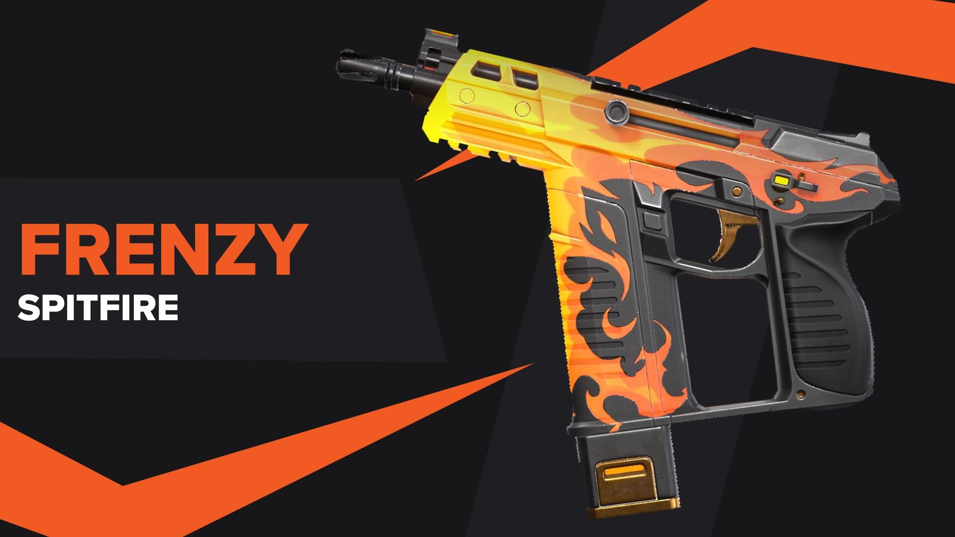 Frenzy Spitfire Skin