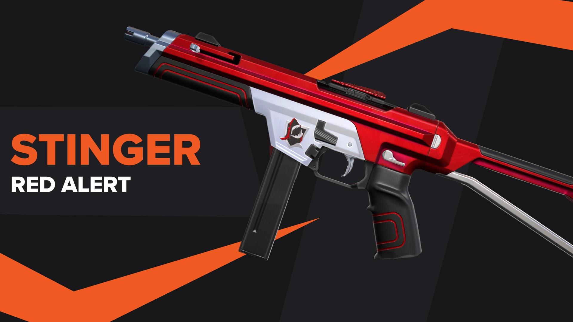 Stinger Red Alert Skin