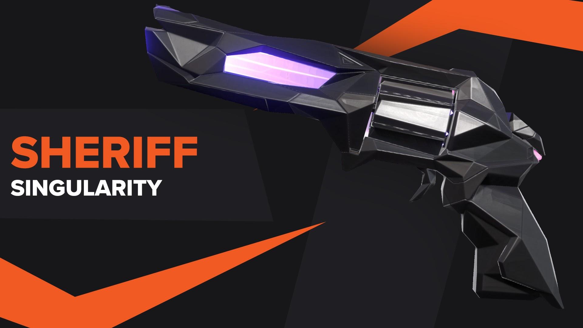 Sheriff Singularity Valorant Skin