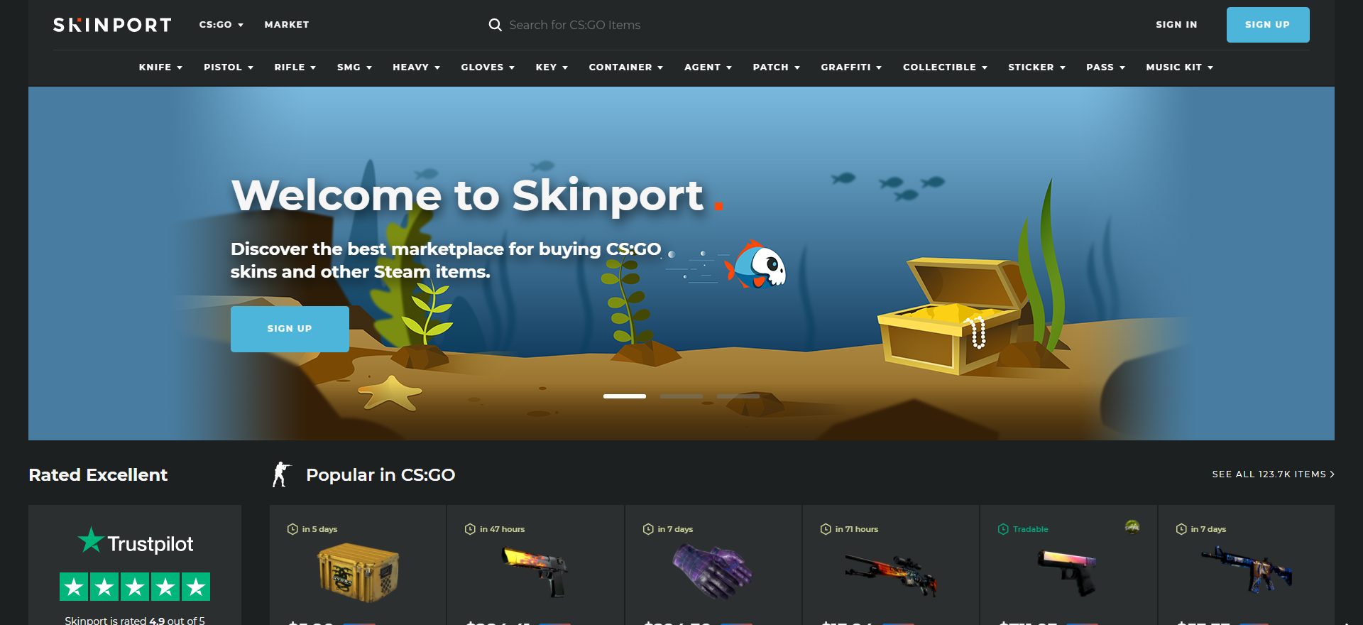 Skinport Review