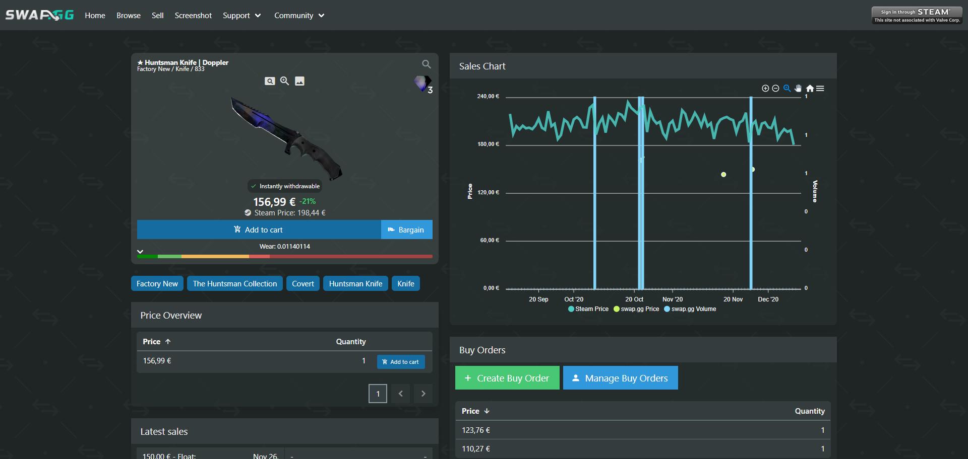 Swap.gg Review Screenshot