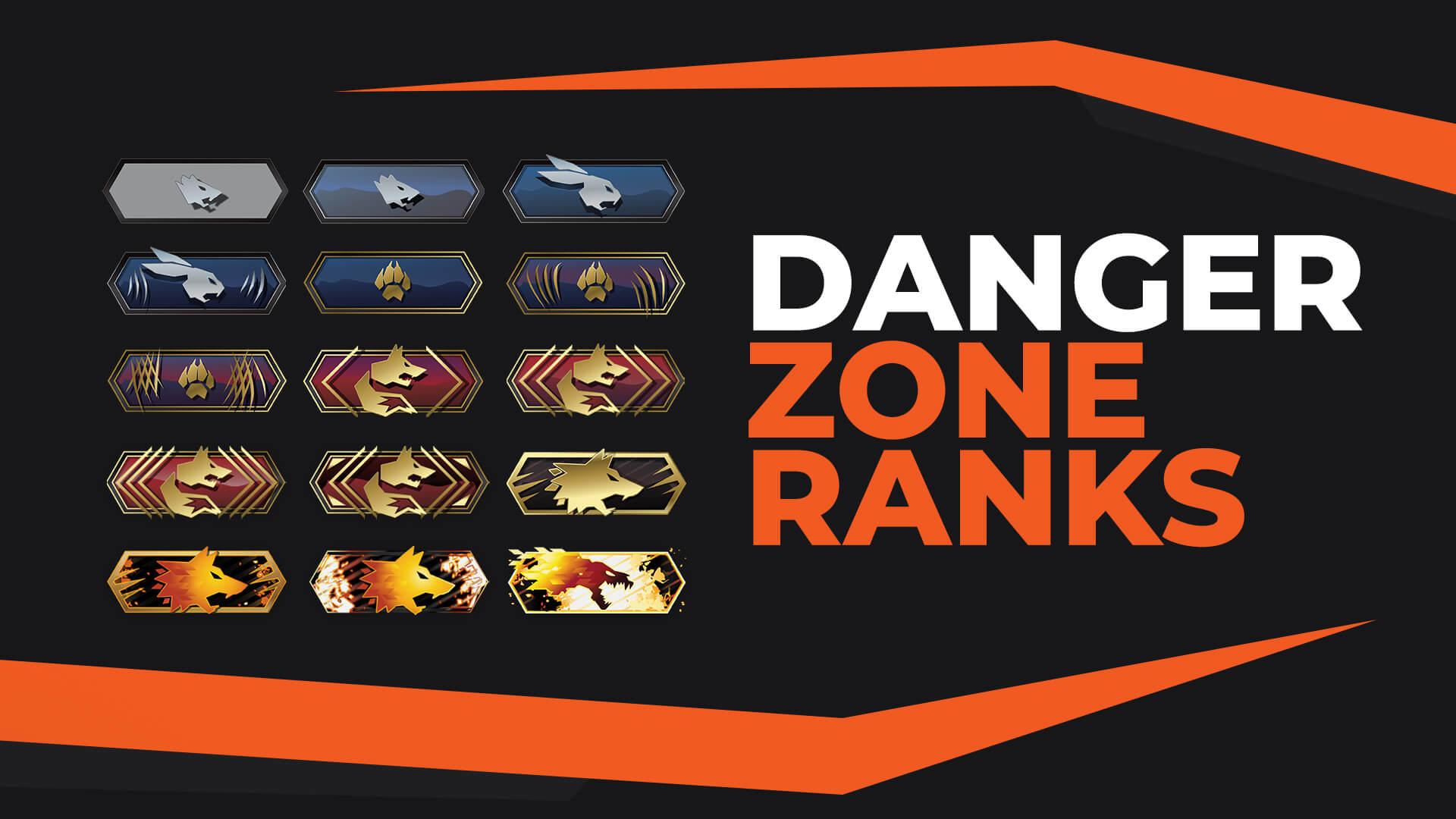 Ultimate CS:GO Danger Zone Ranks Guide