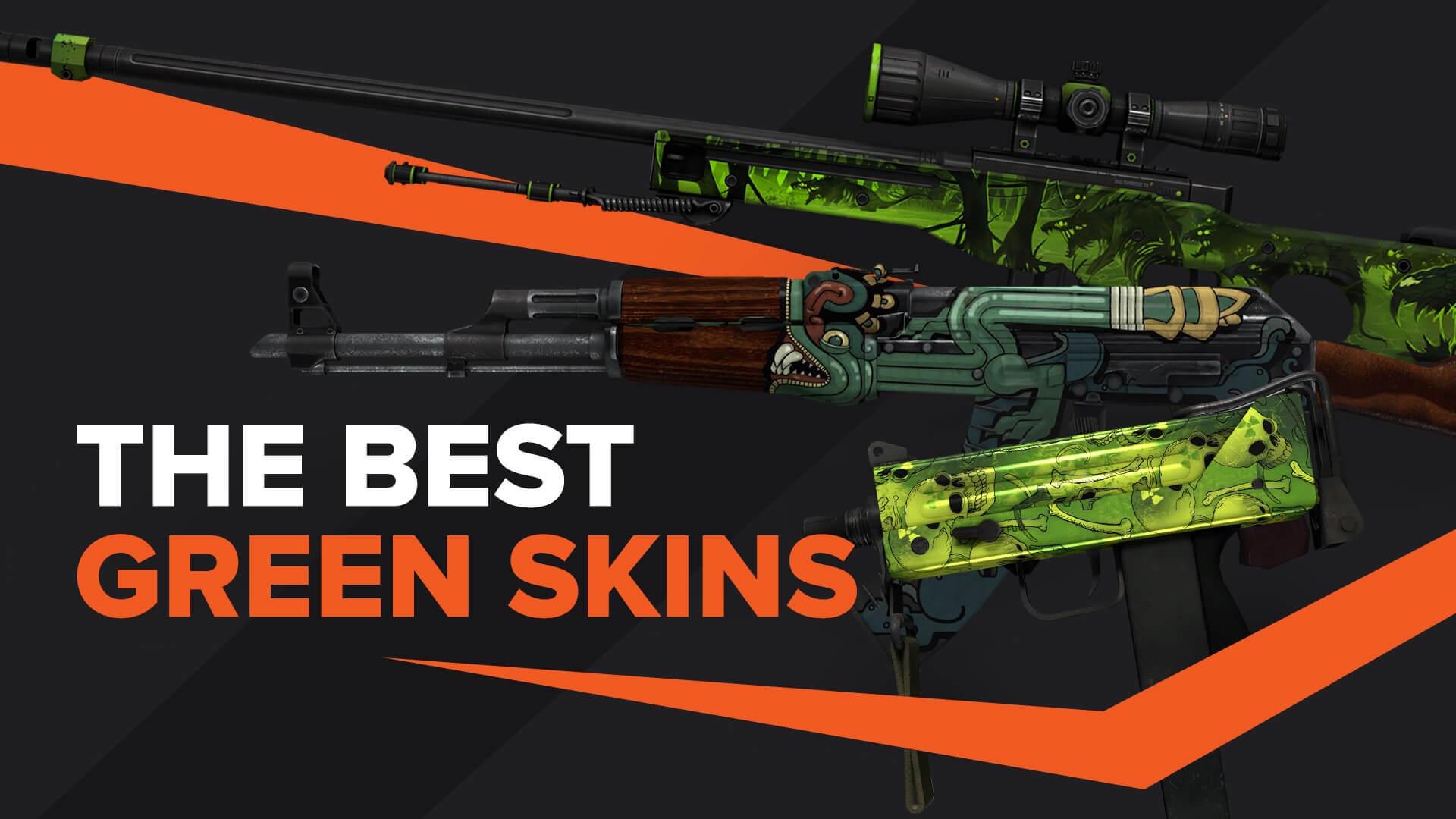 best green skins CSGO