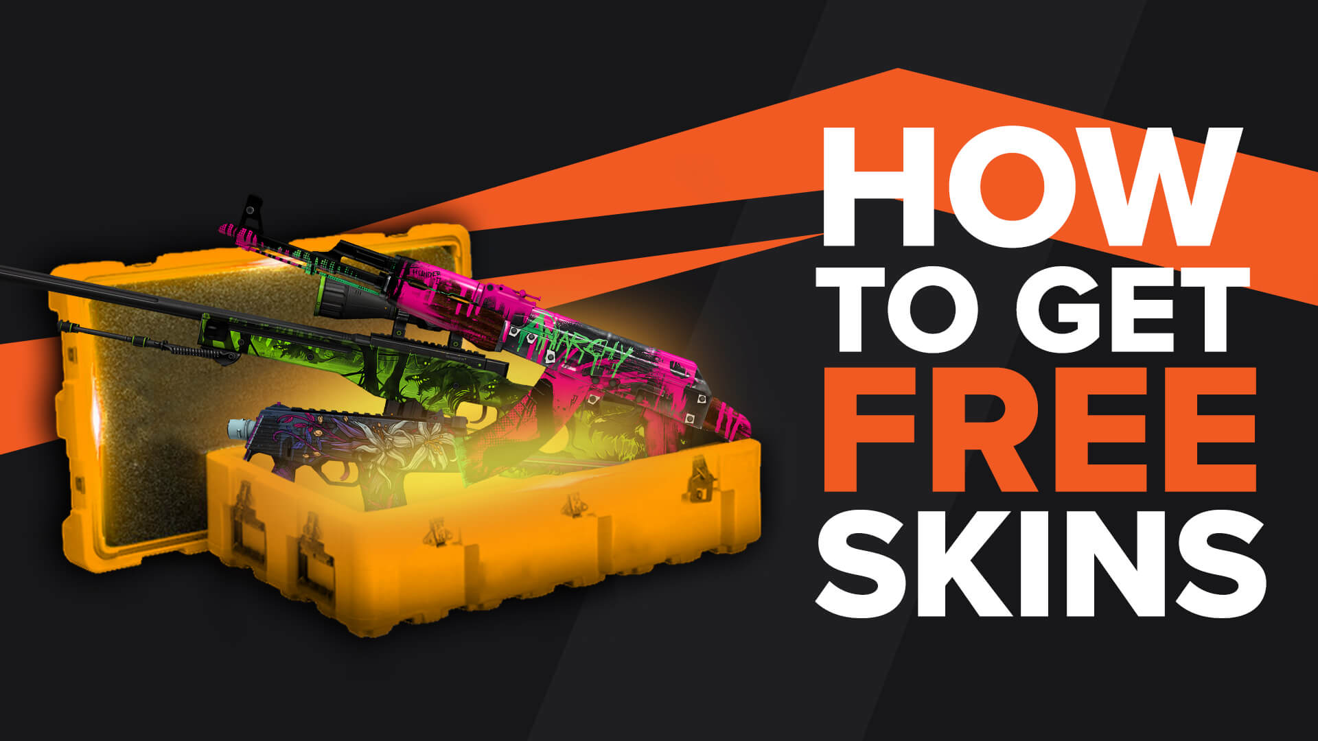 Free Skins in Counter Strike Global Offensive