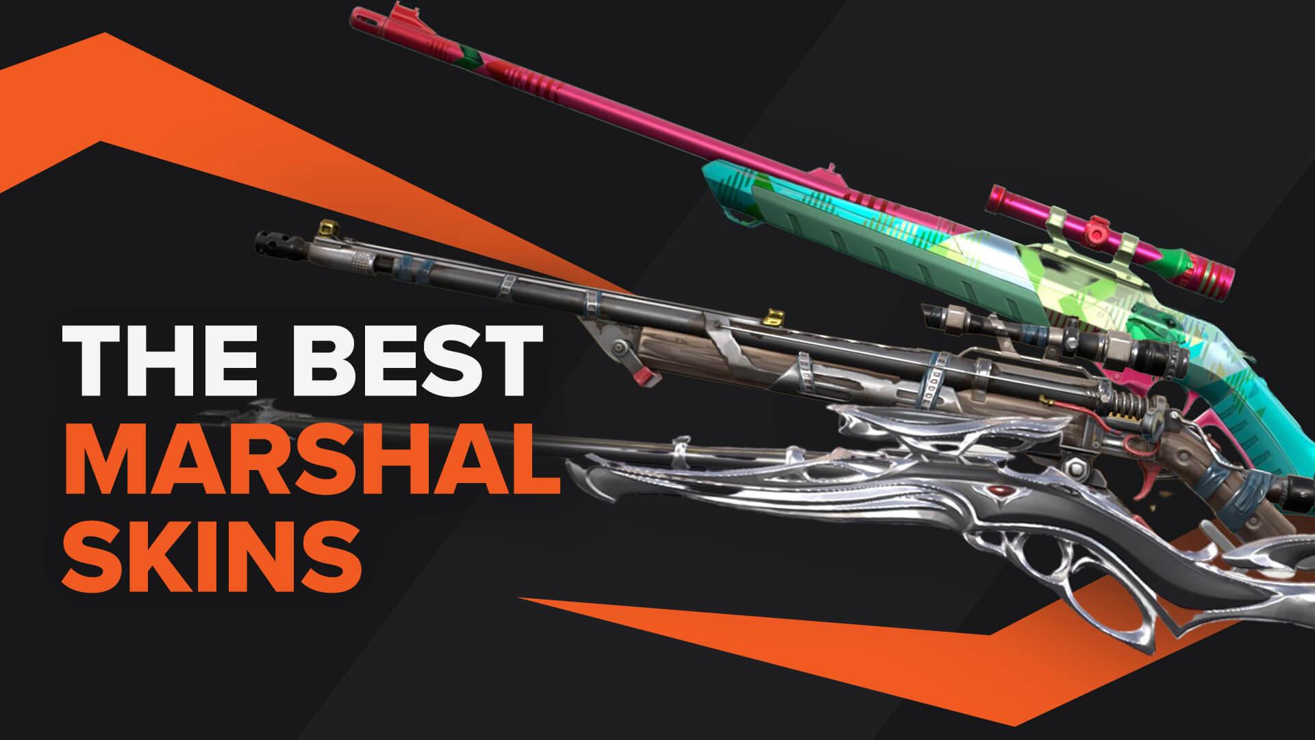 best marshal skins valorant