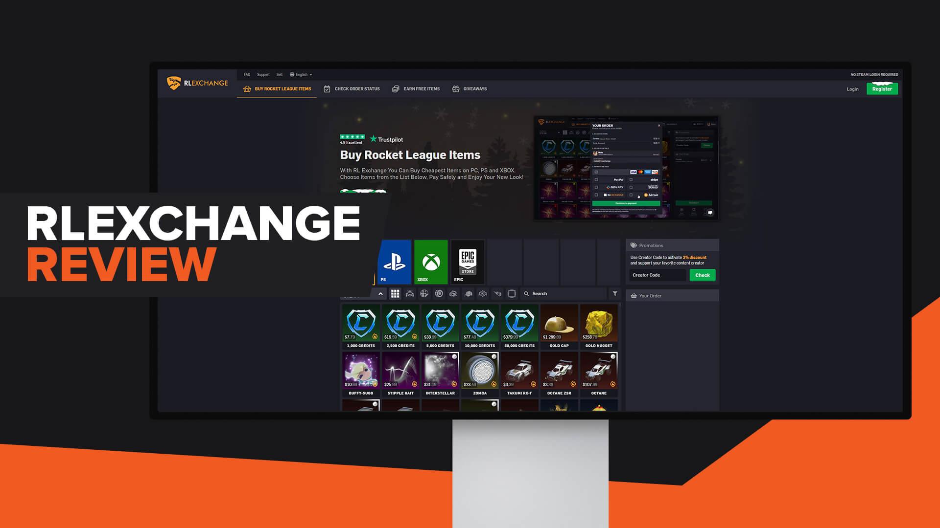 RL.Exchange Review | Legit | Promo Code | Alternatives