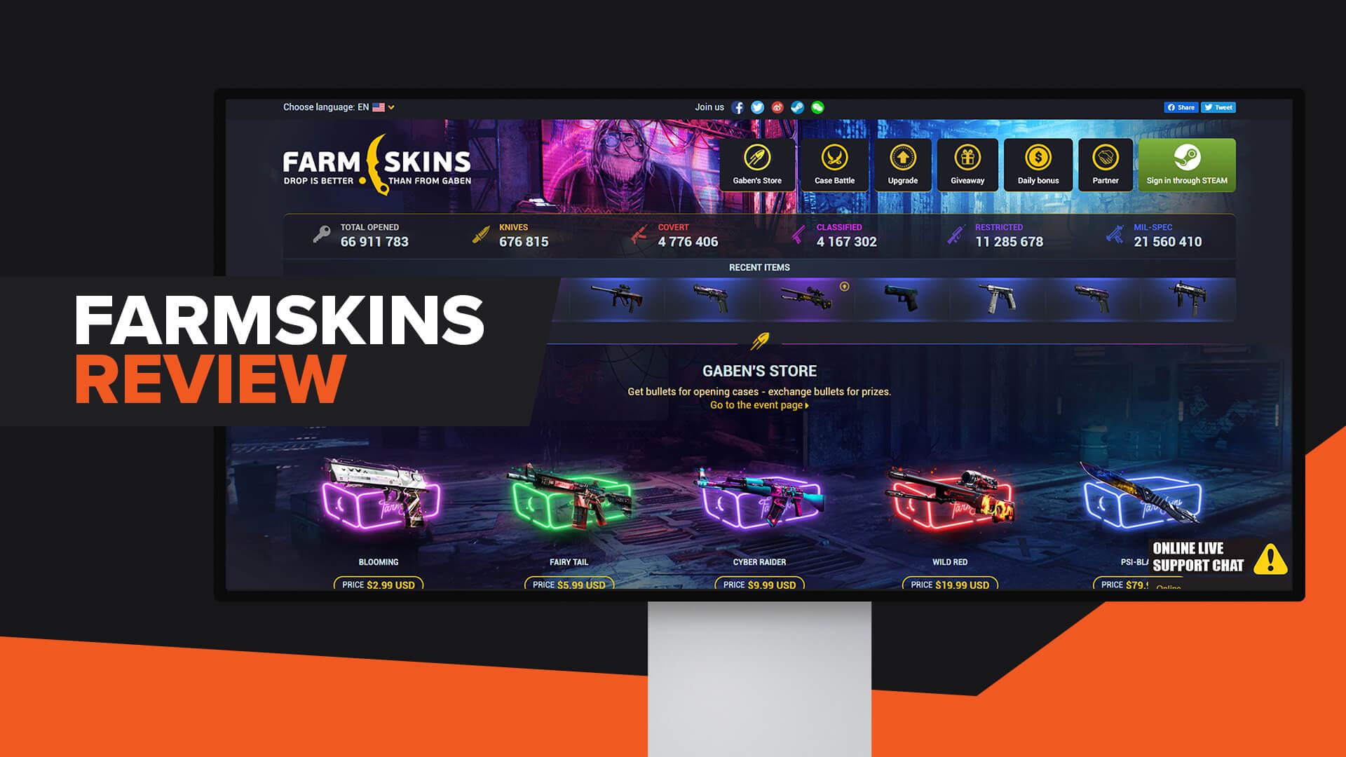 Farmskins Review | Legit | Promo Code | Alternatives