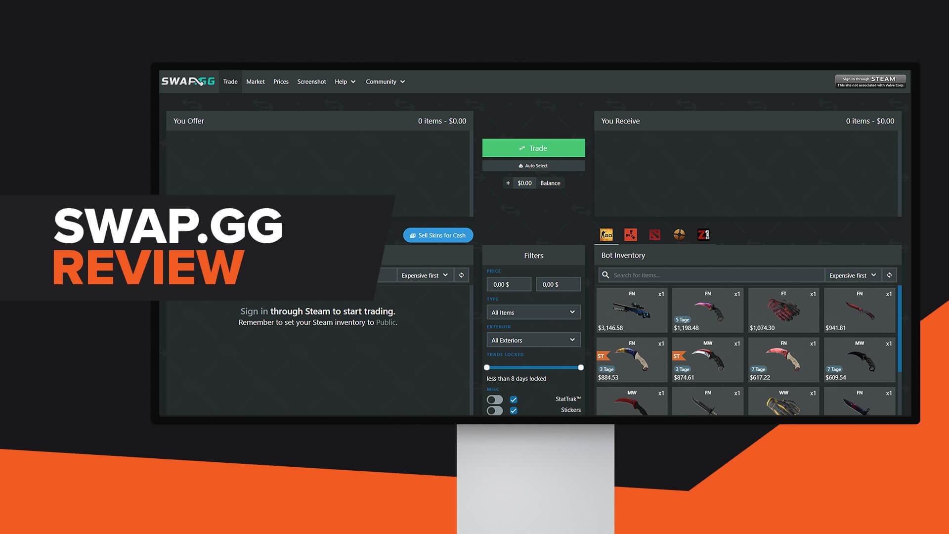 Swap.gg Review | Legit | Promo Code | Alternatives