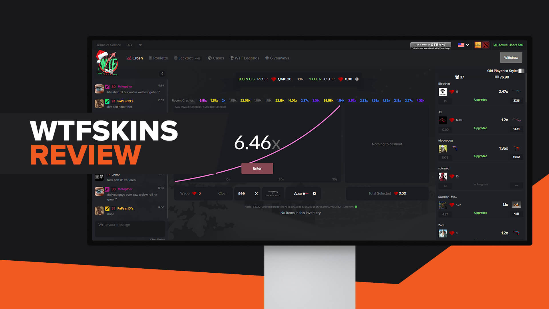 WTFSkins Review | Legit | Code | Alternatives