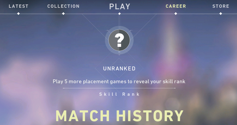 Unrated Match In Valorant Competitive