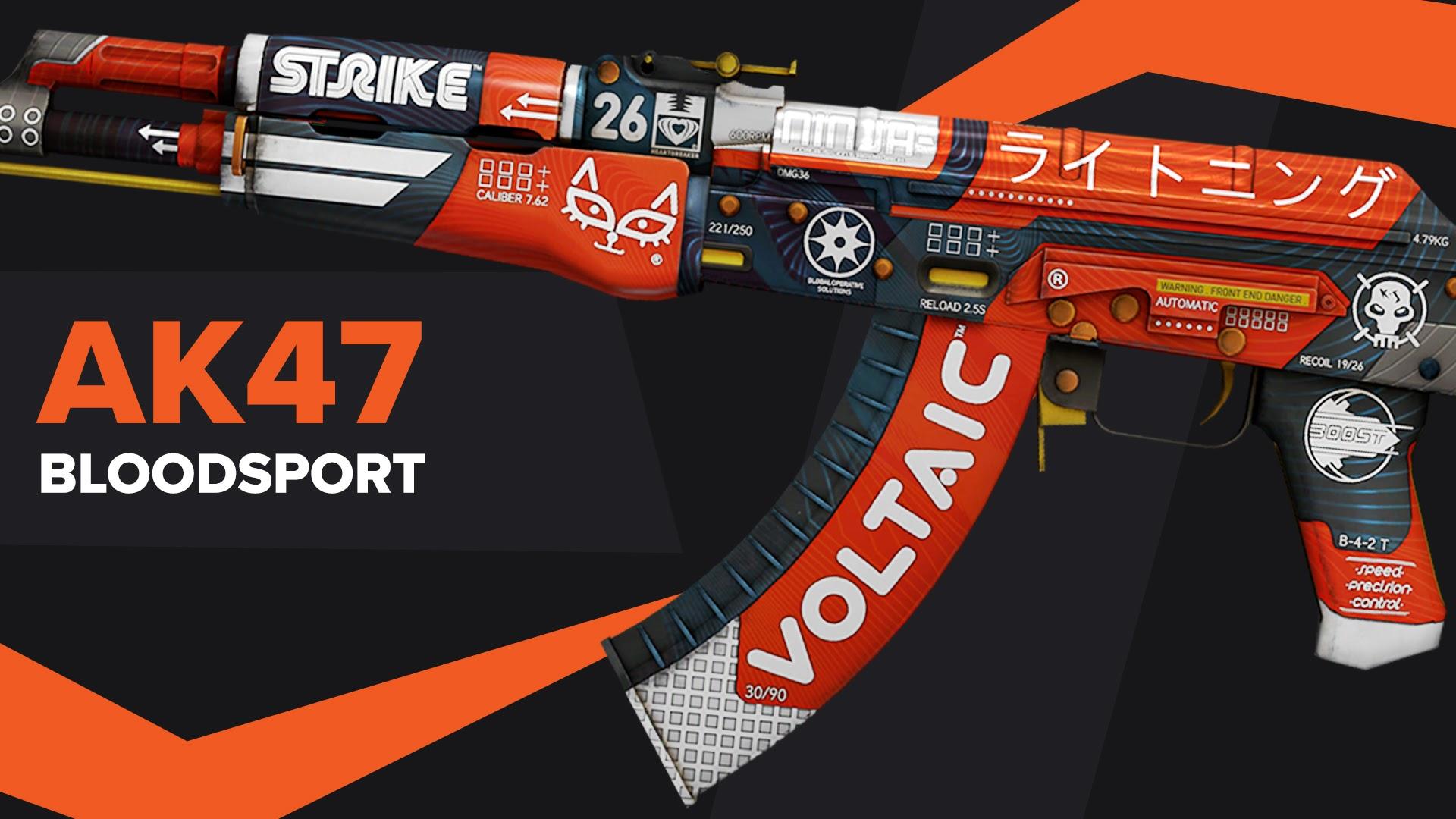AK47 Bloodsport CSGO Skin