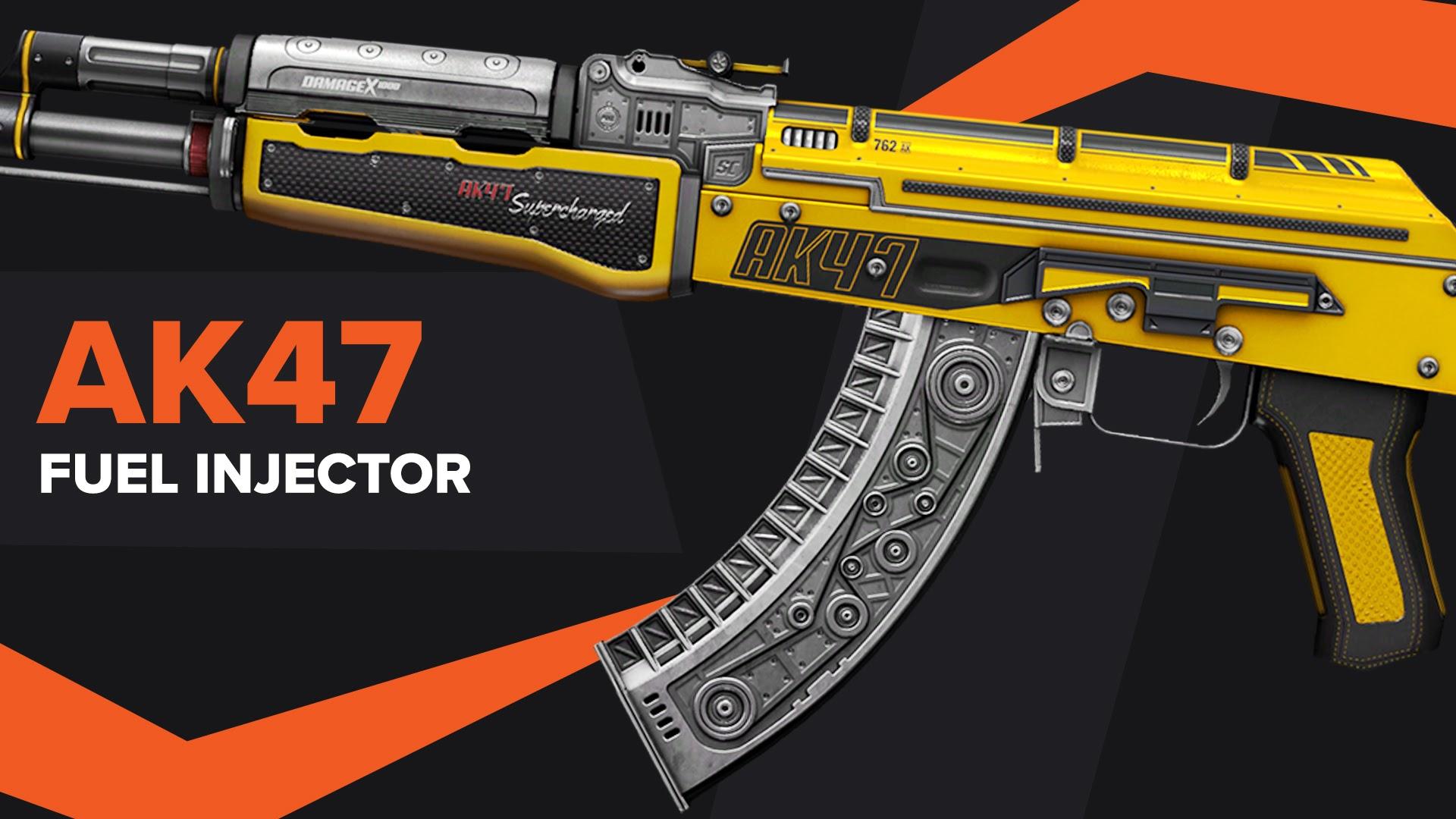 AK47 Fuel Injector CSGO Skin