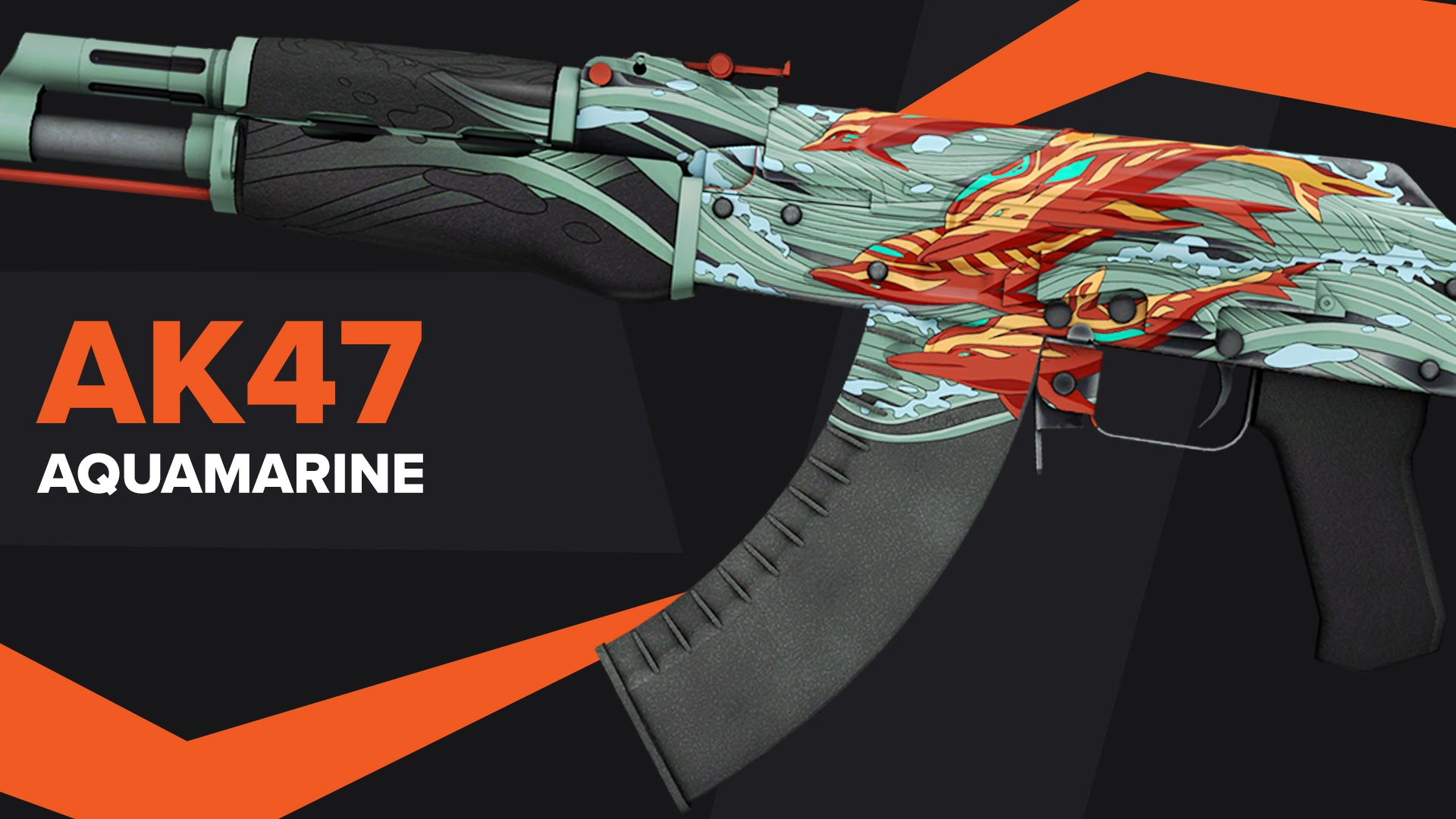 AK47 Aquamarine Revenge CSGO Skin