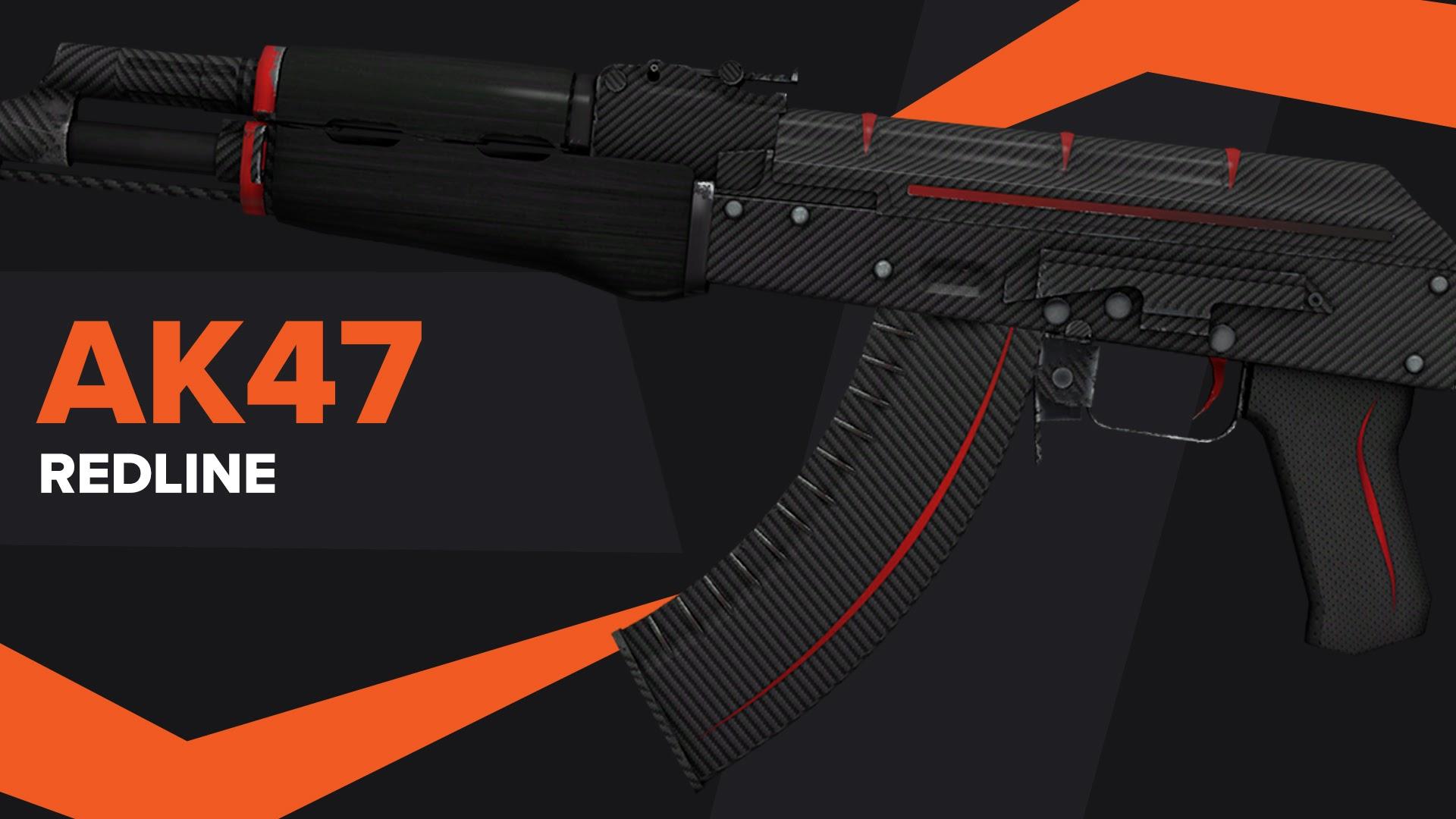 AK47 Redline CSGO Skin