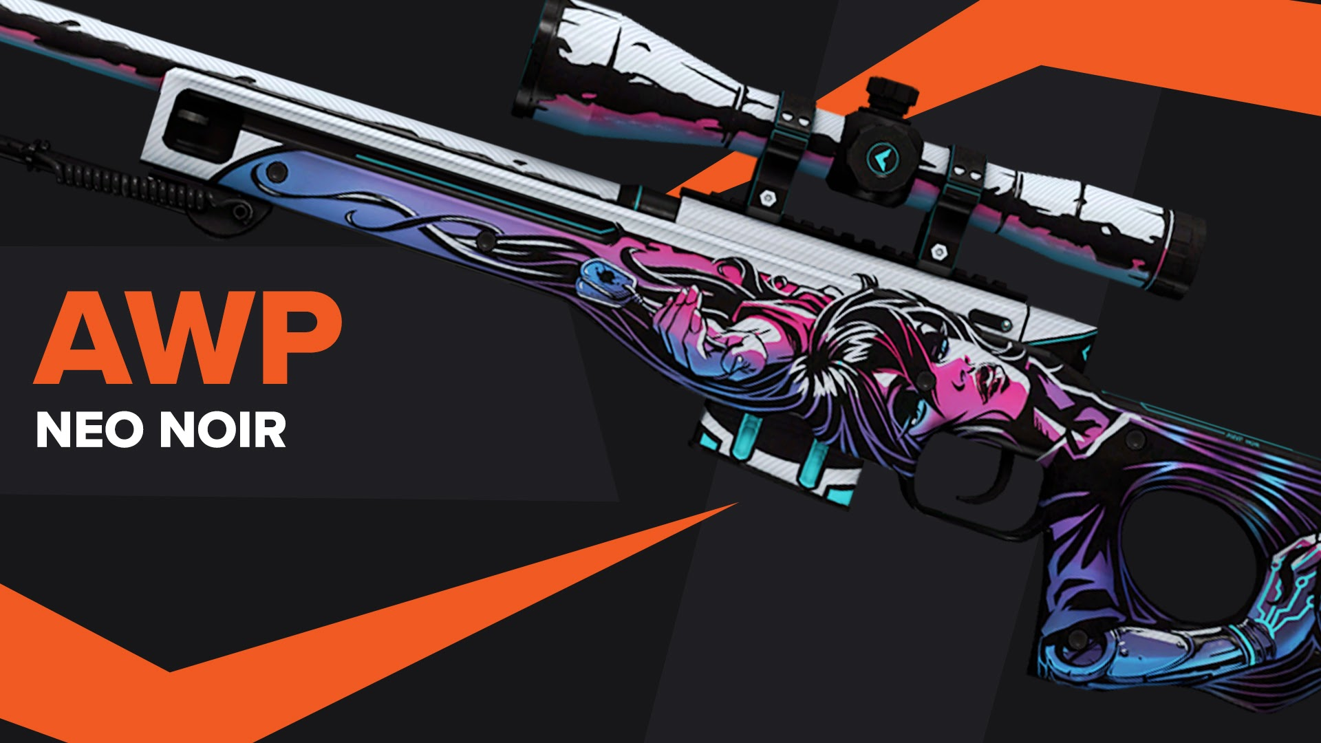 AWP Neo Noir CSGO Skin