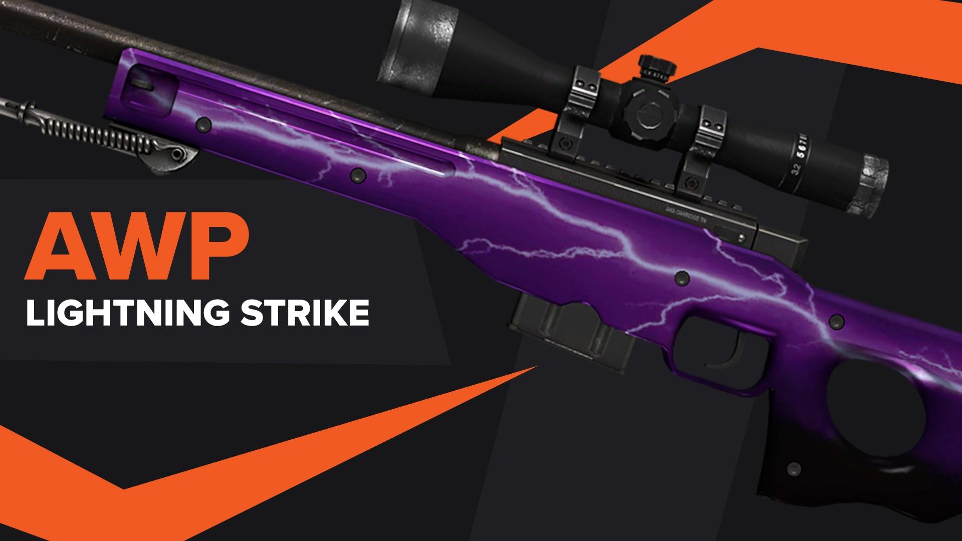 AWP Lightning Strike CSGO Skin