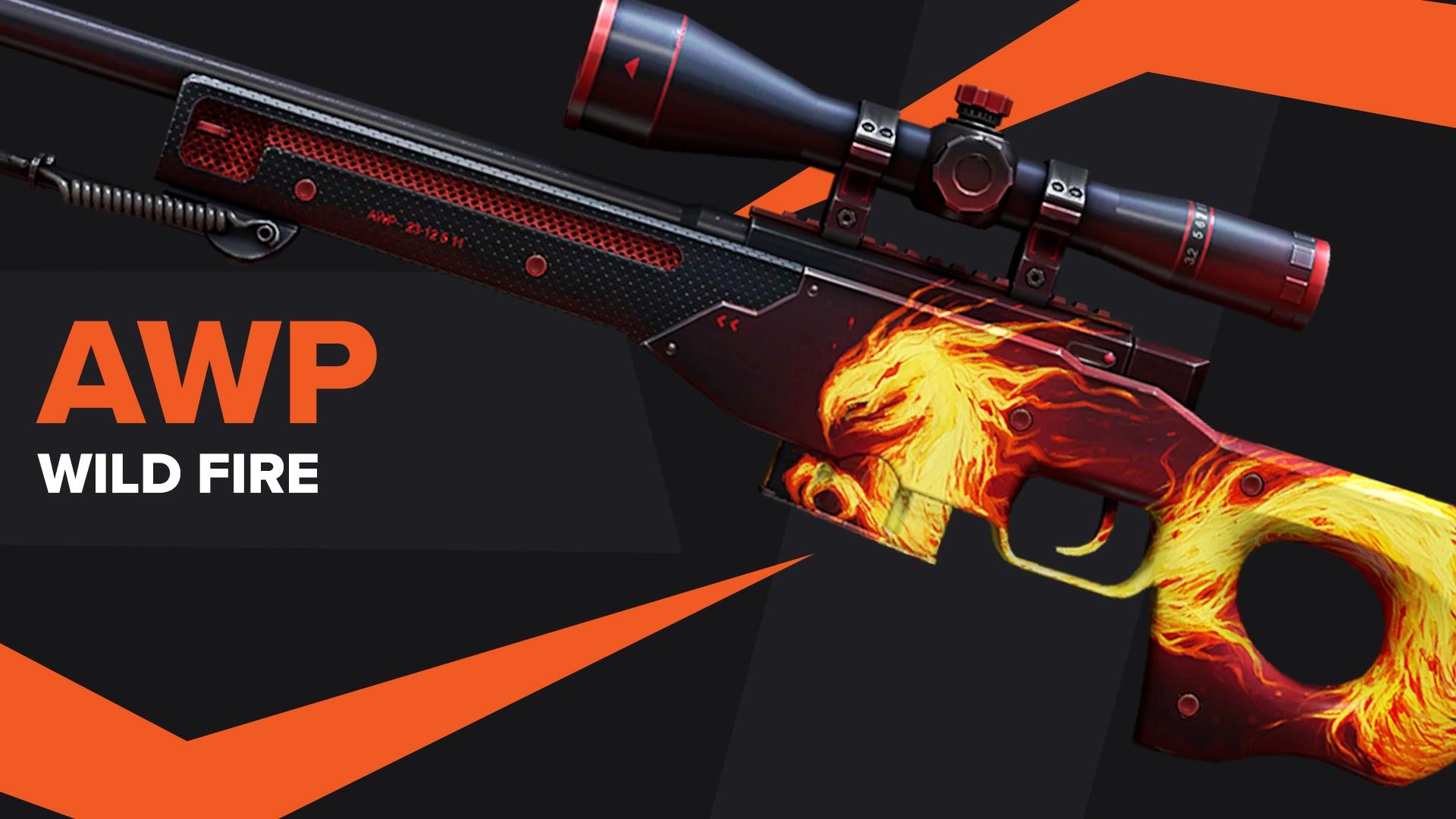 AWP Wild Fire CSGO Skin