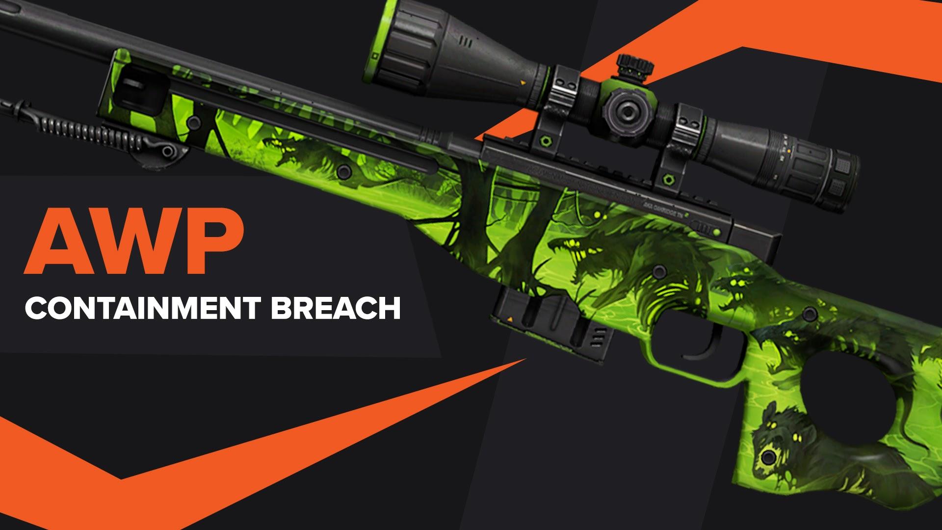 AWP Containment Breach CSGO Skin