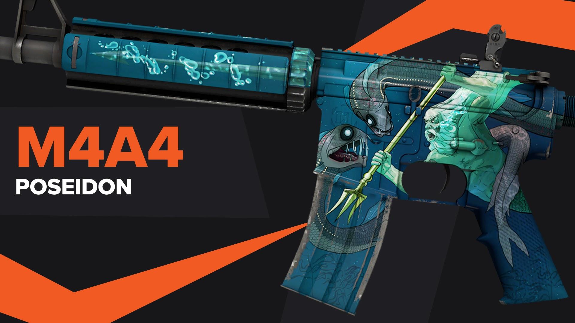 Poseidon CSGO Skin M4A4