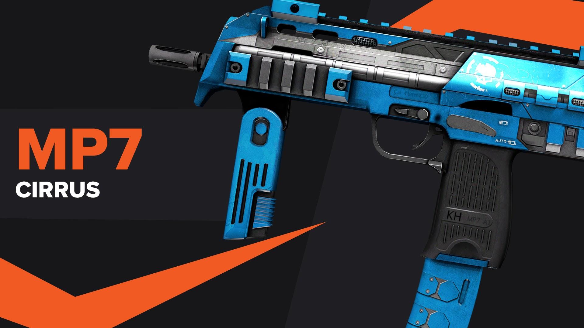 MP7 Cirrus CSGO Skin