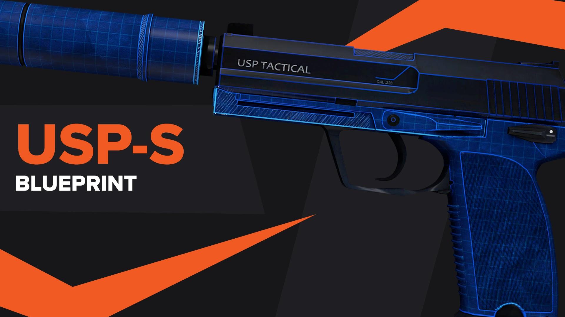 USPS Blueprint CSGO Skin