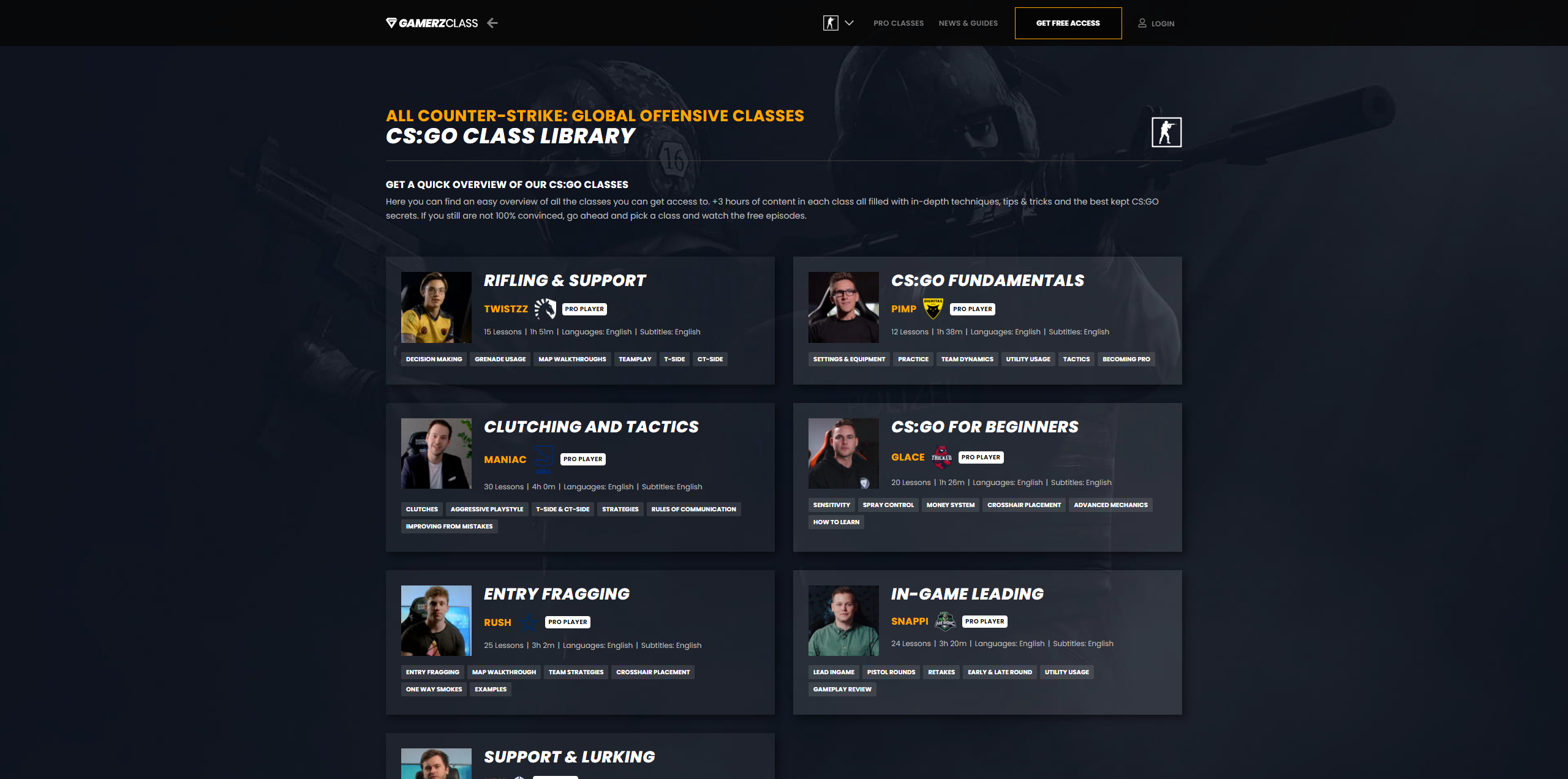 CSGO Course Gamerzclass