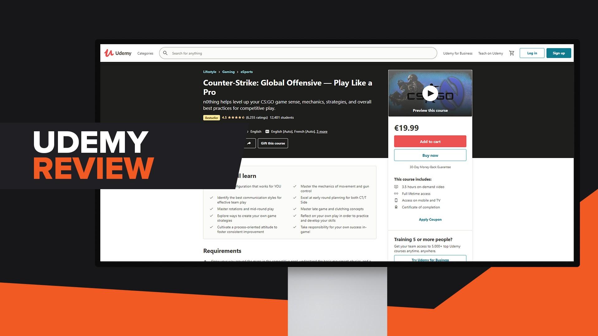 CSGO Course Udemy Review