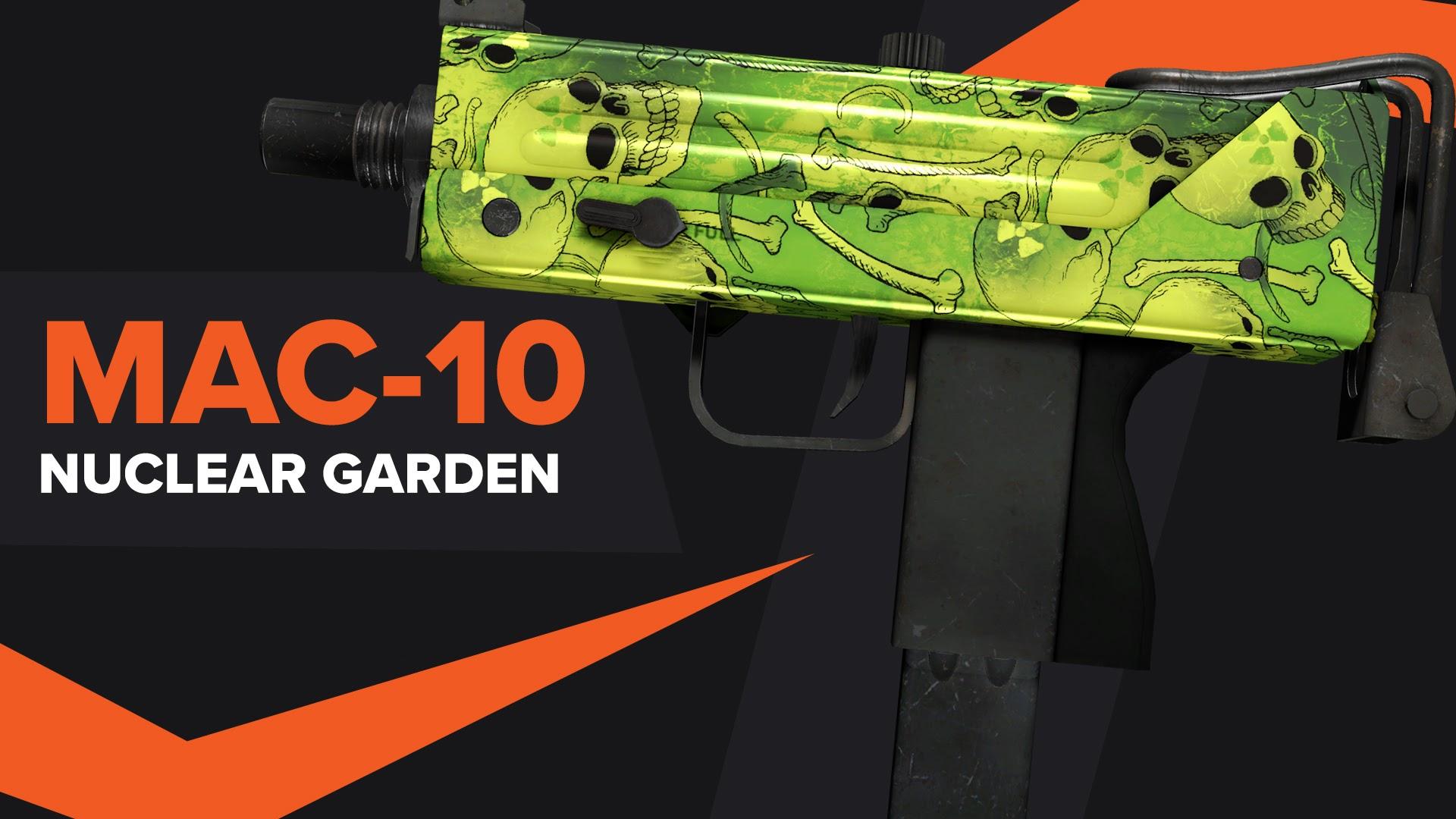 MAC 10 Nuclear Garden CSGO Skin