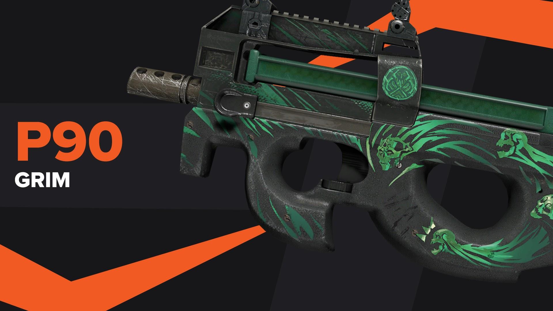 P90 Grim CSGO Skin
