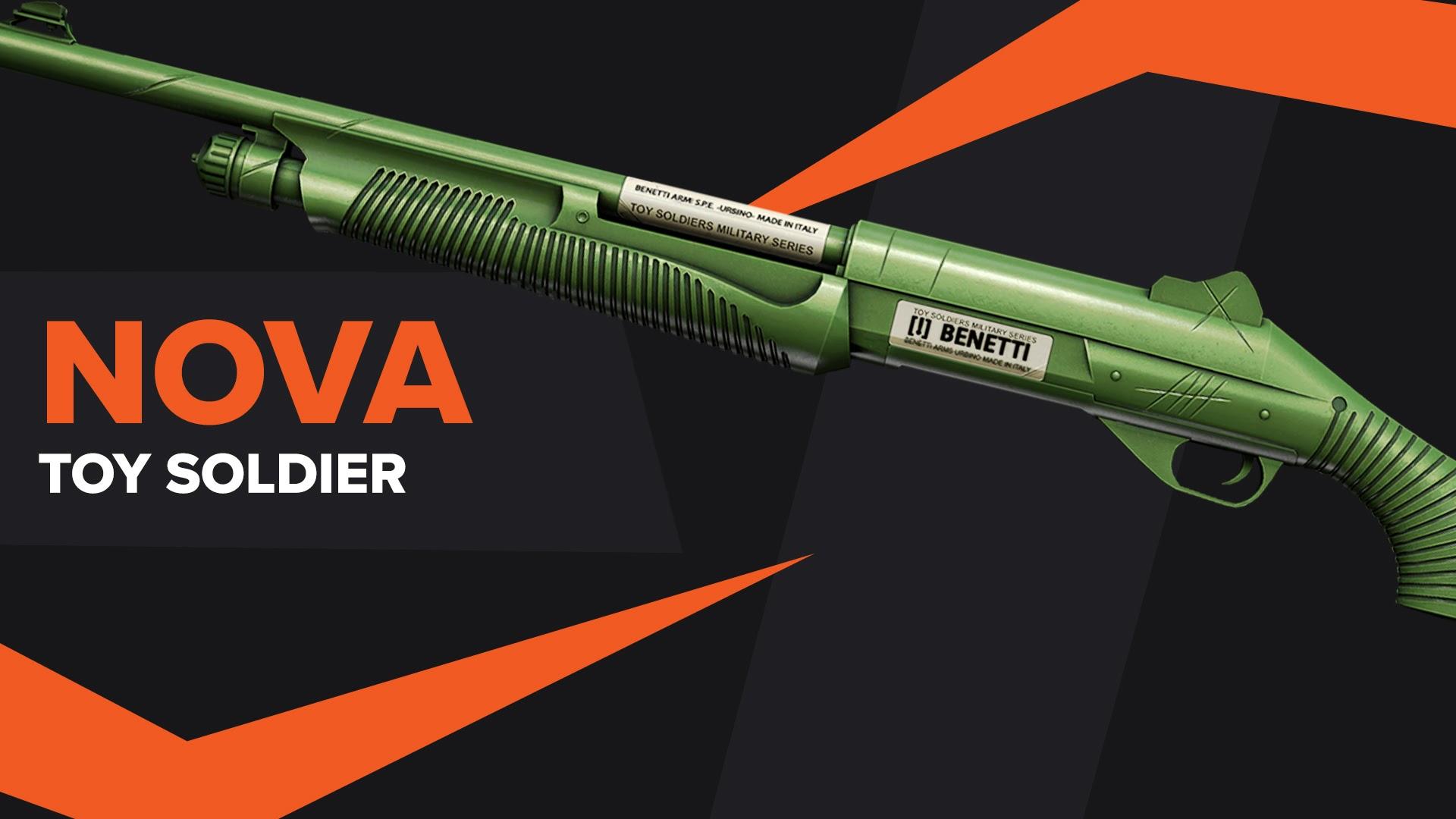 Nova Toy Soldier CSGO Skin