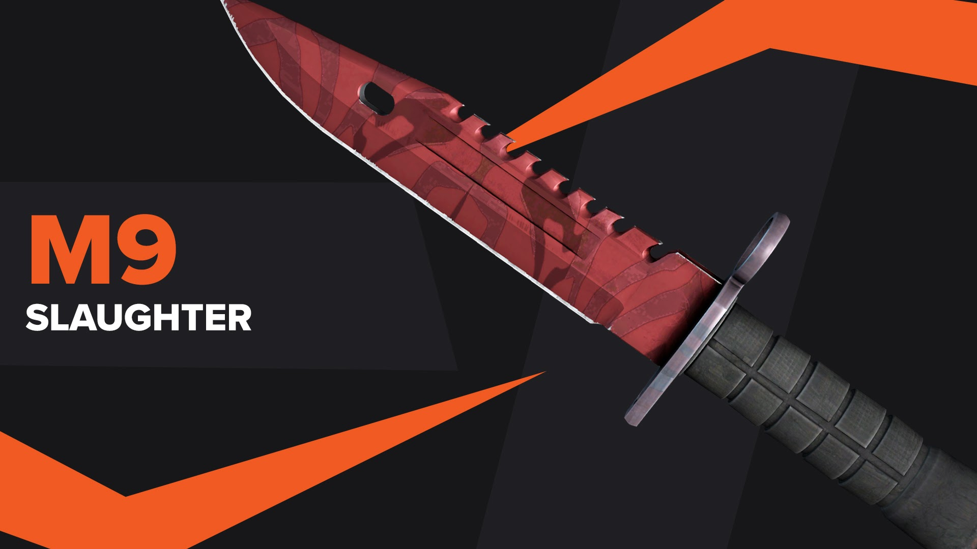 M9 Bayonet Slaughter CSGO Skin