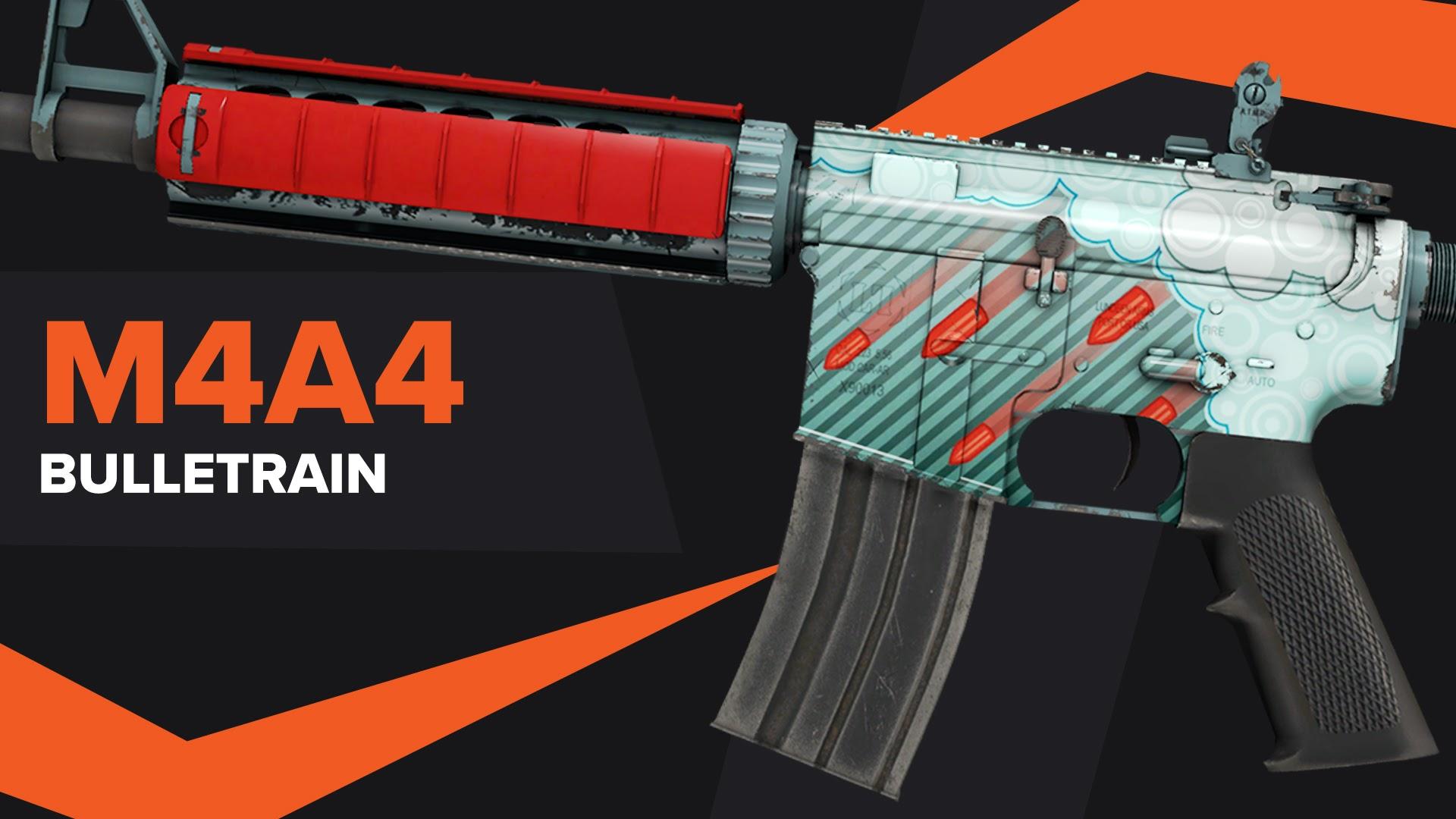 Bulletrain CSGO Skin M4A4