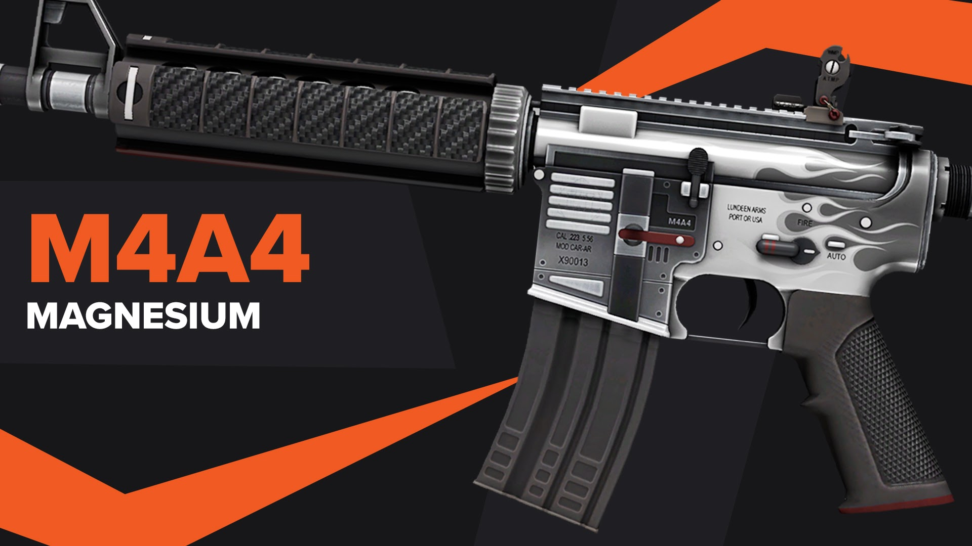 Magnesium CSGO Skin M4A4