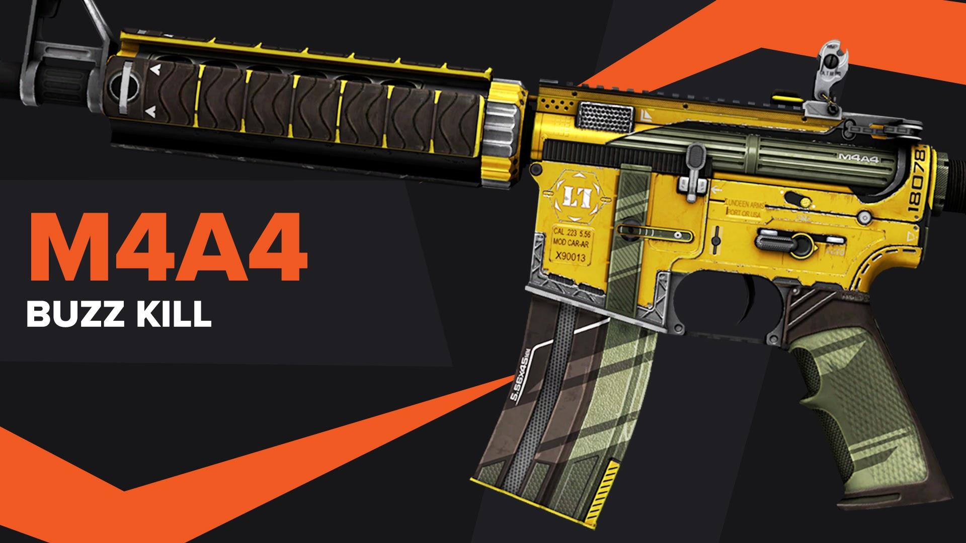 Buzz Kill CSGO Skin M4A4