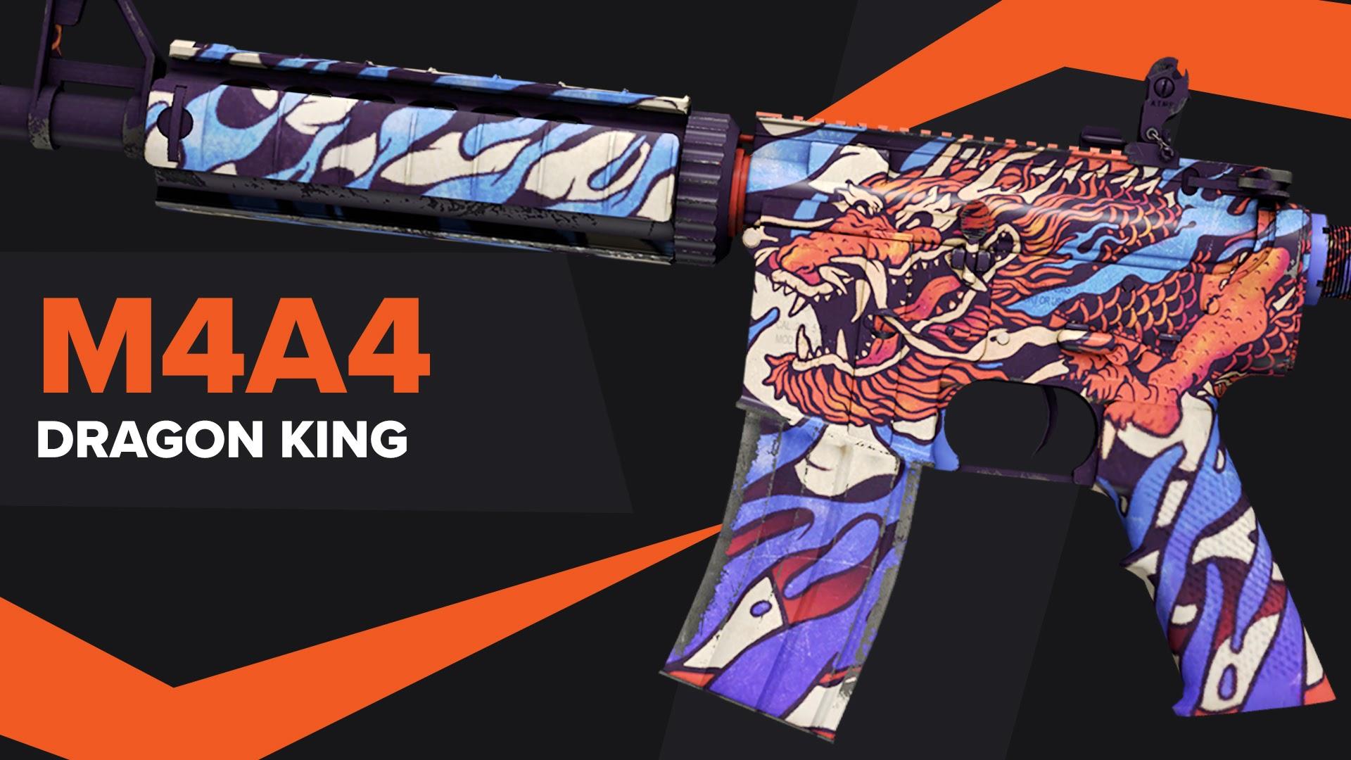 Dragon King CSGO Skin M4A4