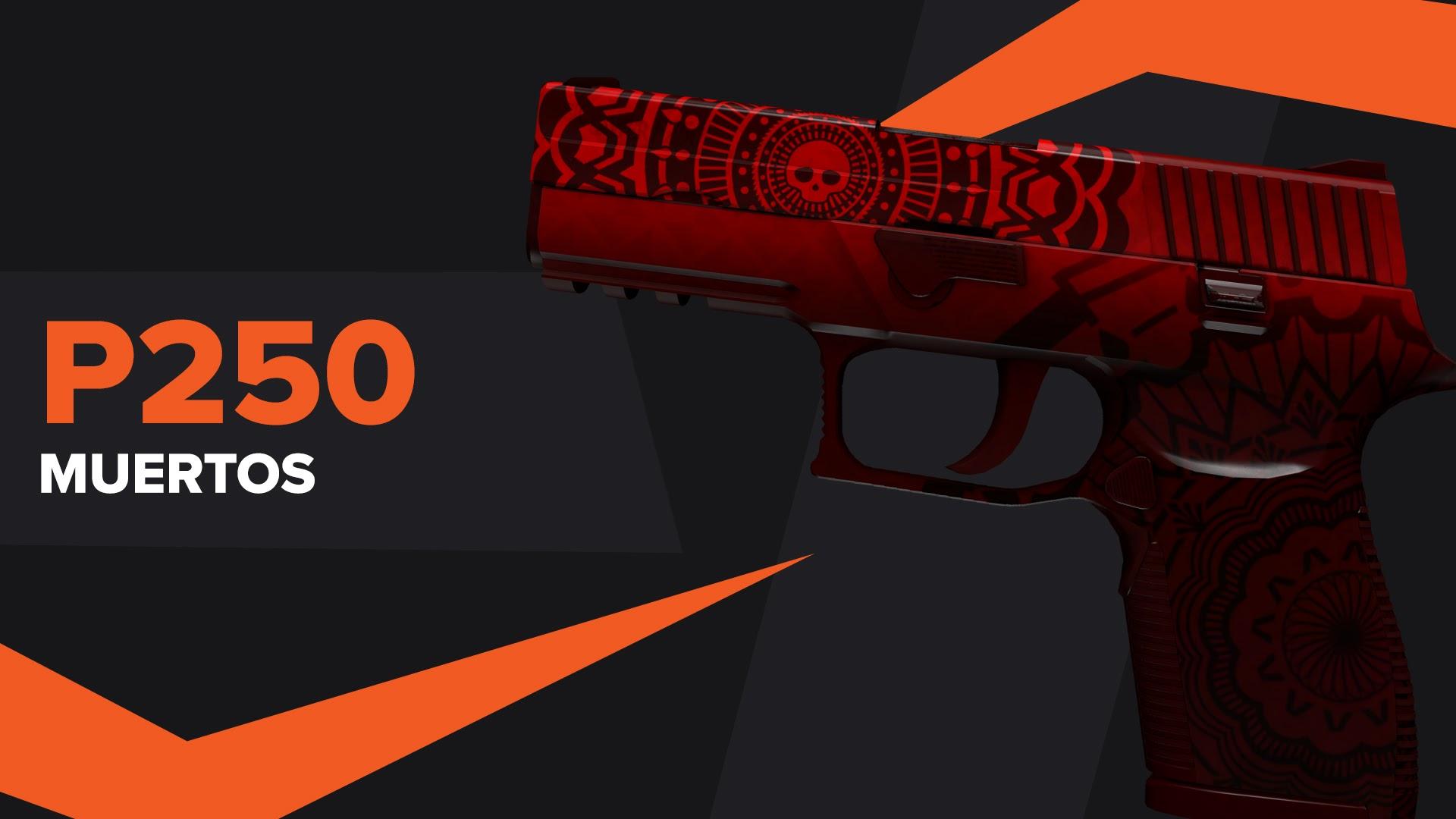 P250 Muertos CSGO Skin