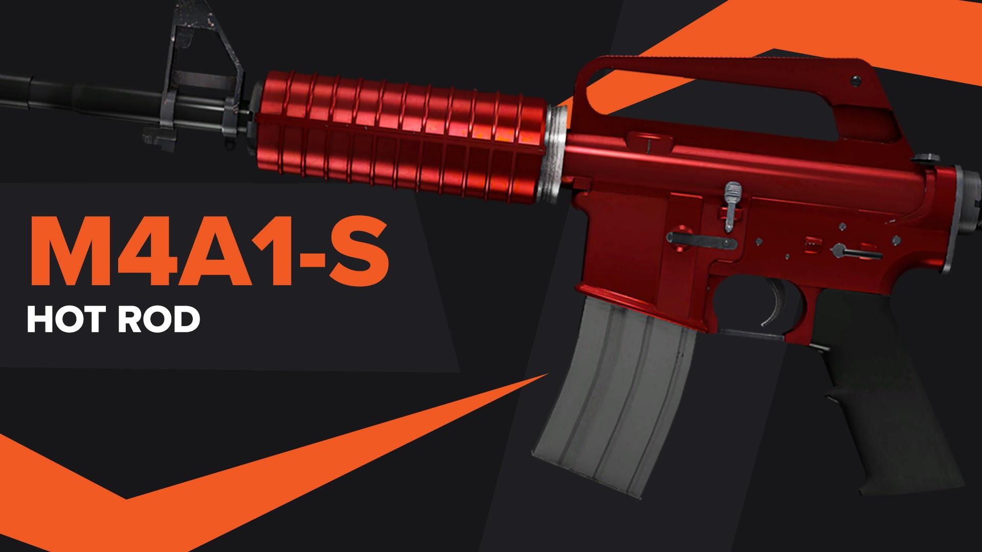 Hot Rod CSGO Skin M4A1S
