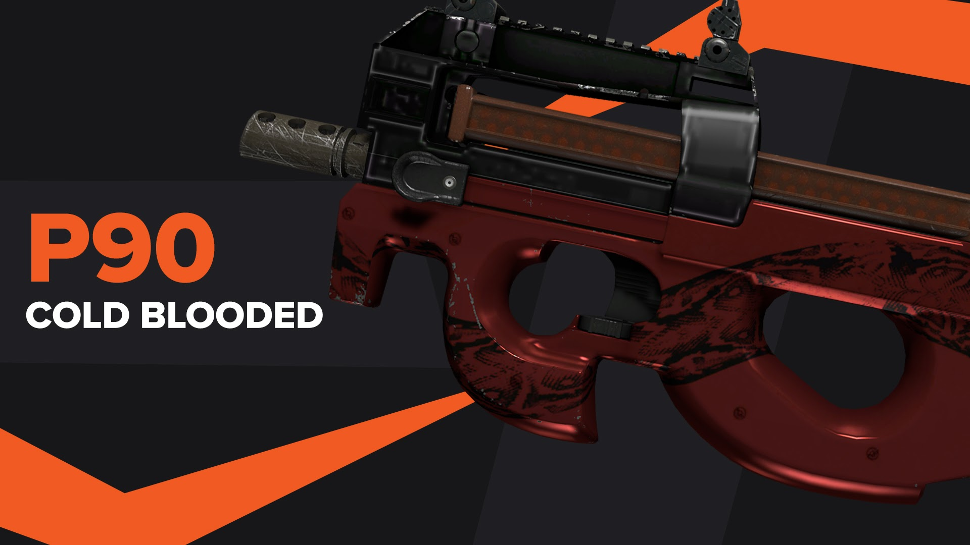 P90 Cold Blooded CSGO Skin