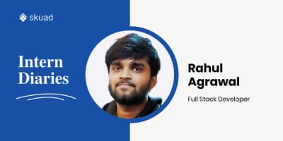 Intern Diaries with Rahul Agrawal: A Geologist Who Codes