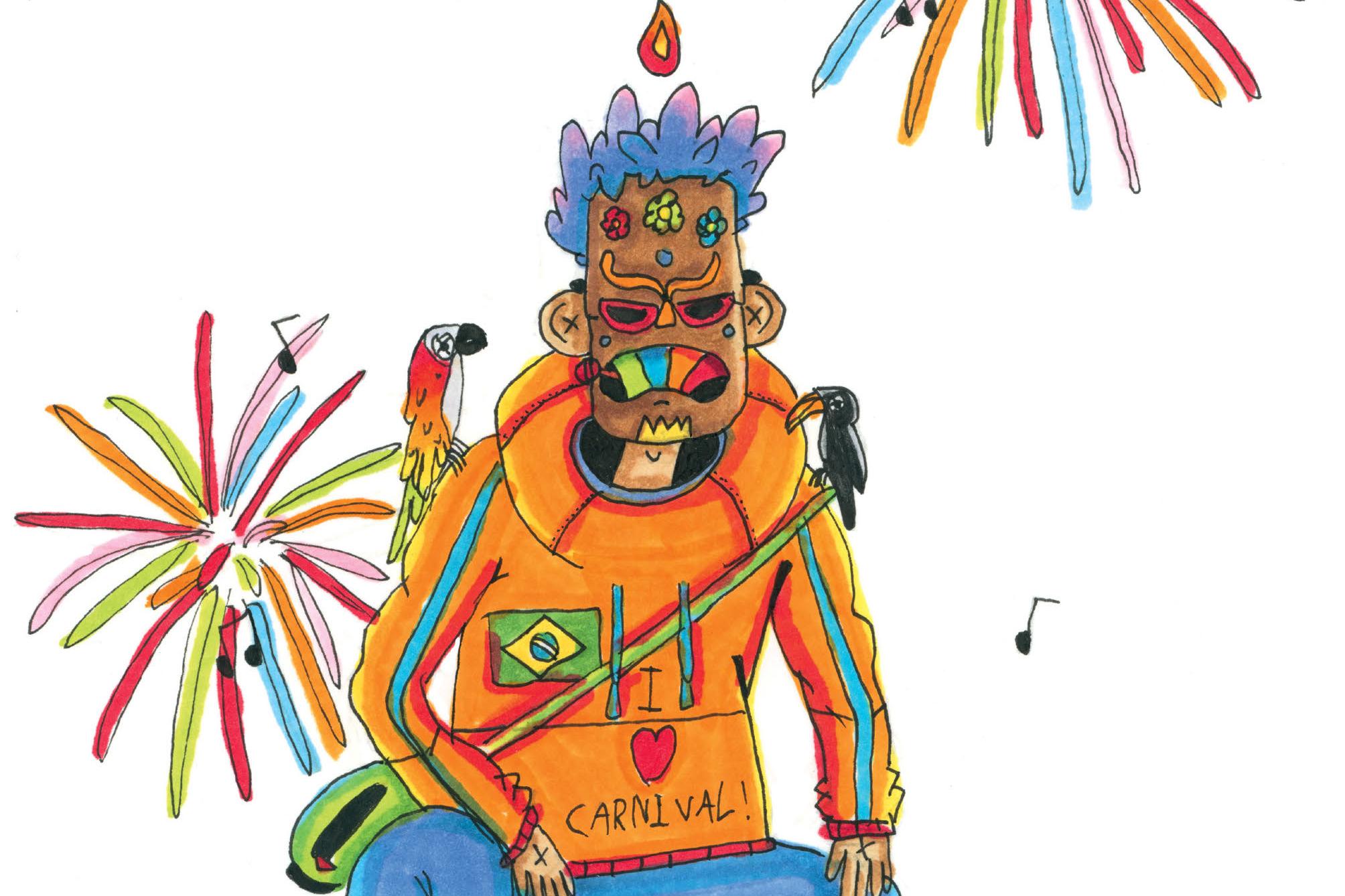 O carnaval do Rio