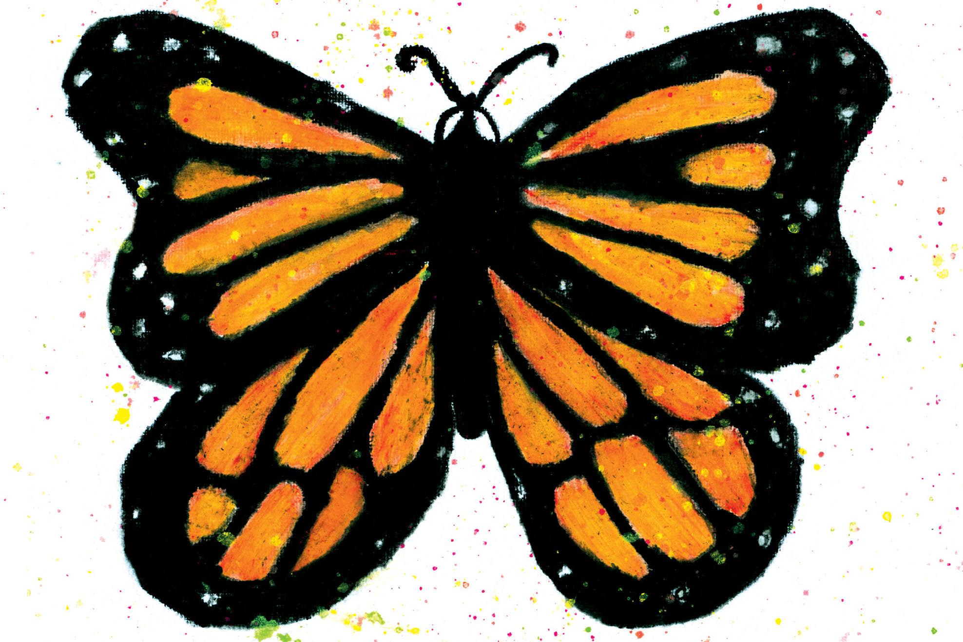 La marcha de las monarcas