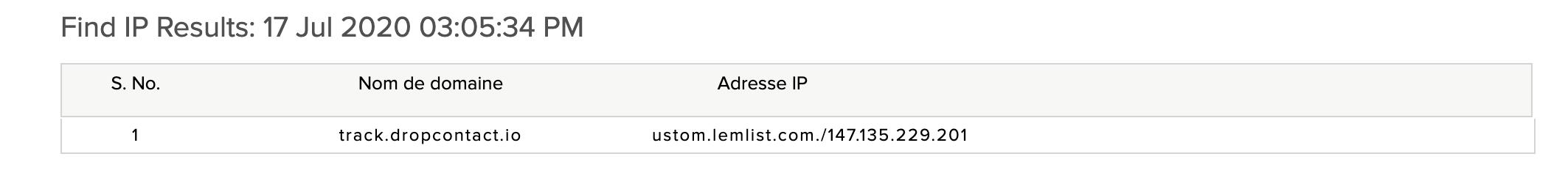 lien tracking lemlist